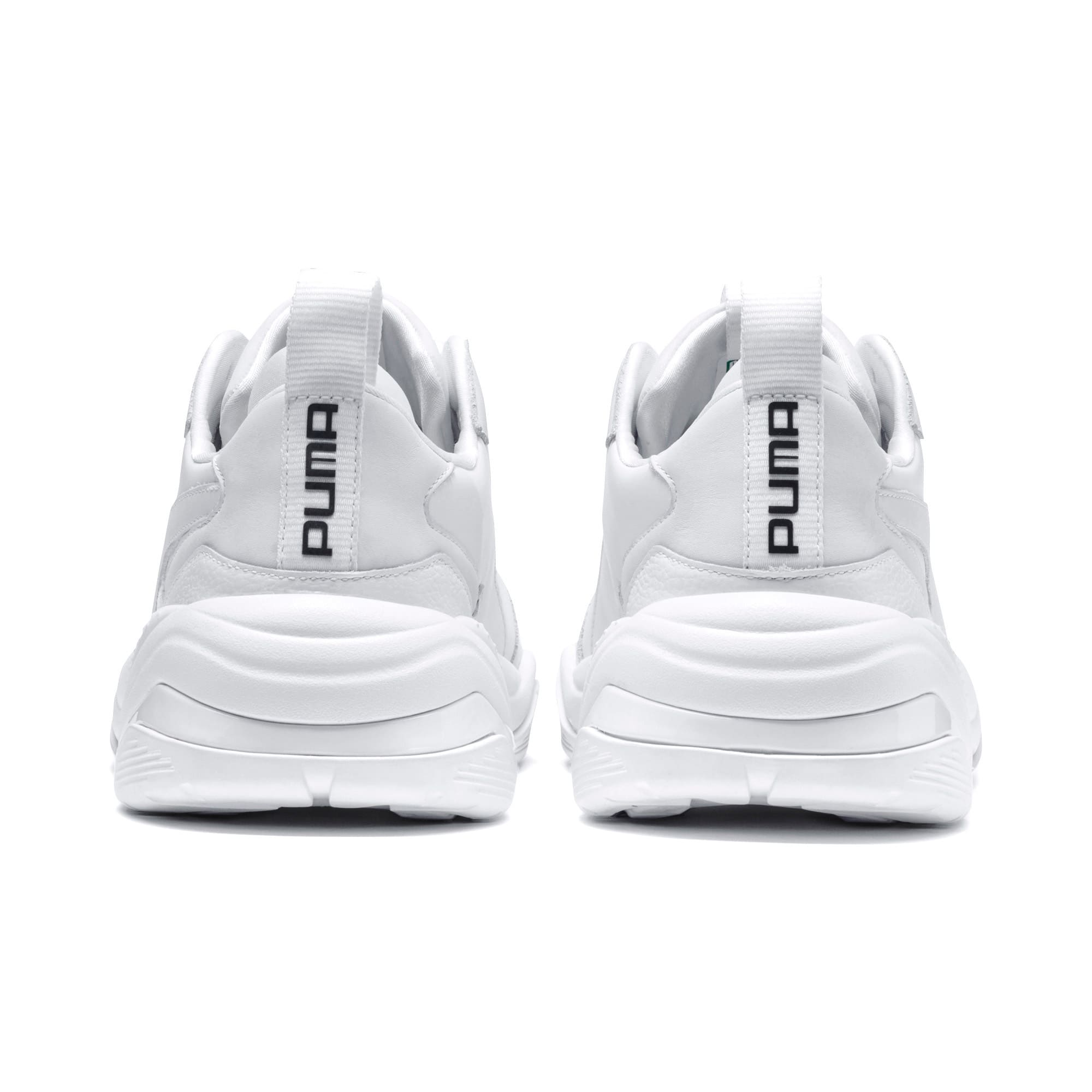Thumbnail 3 of Thunder Leather Sneaker, Puma White, medium