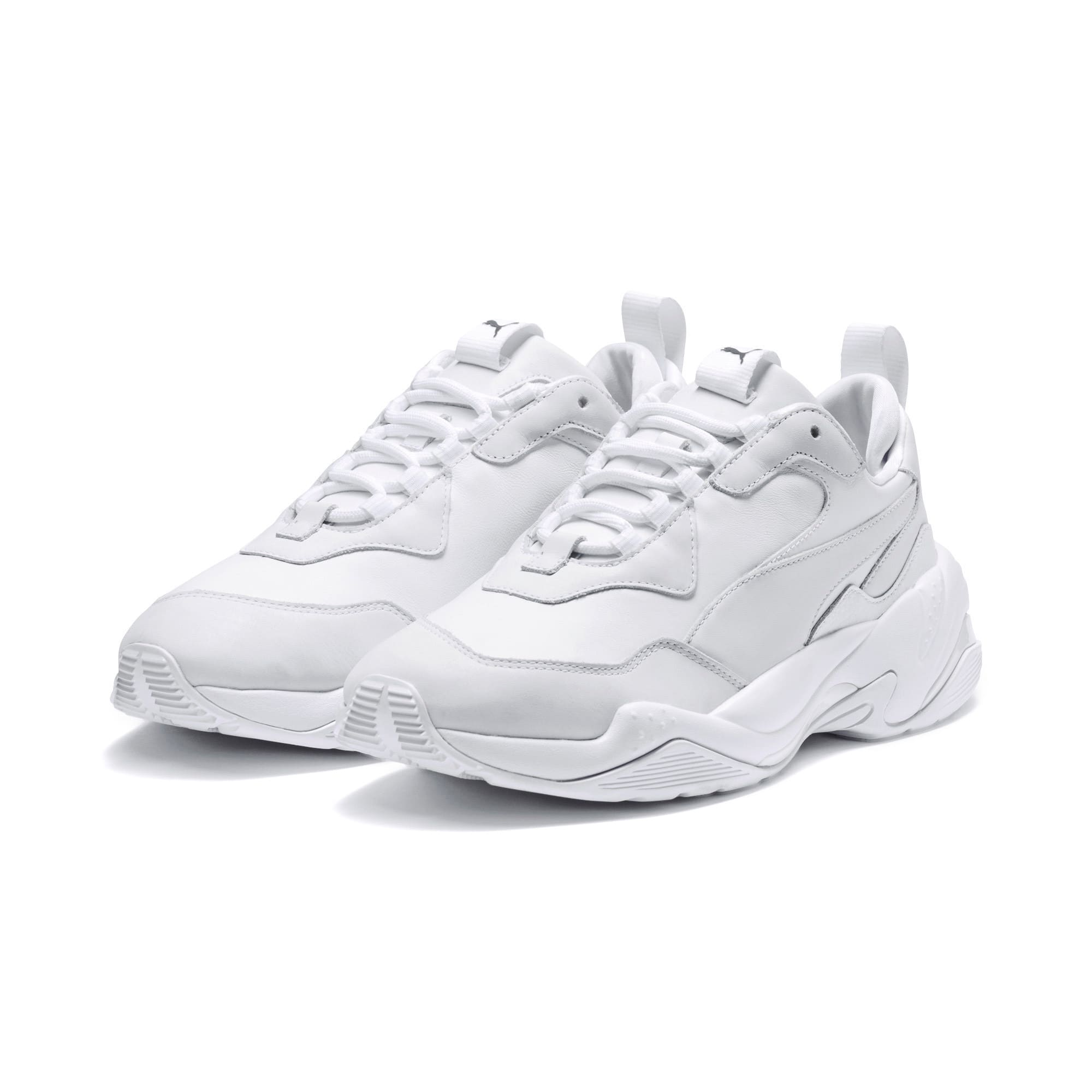 Thumbnail 2 of Thunder Leather Sneaker, Puma White, medium
