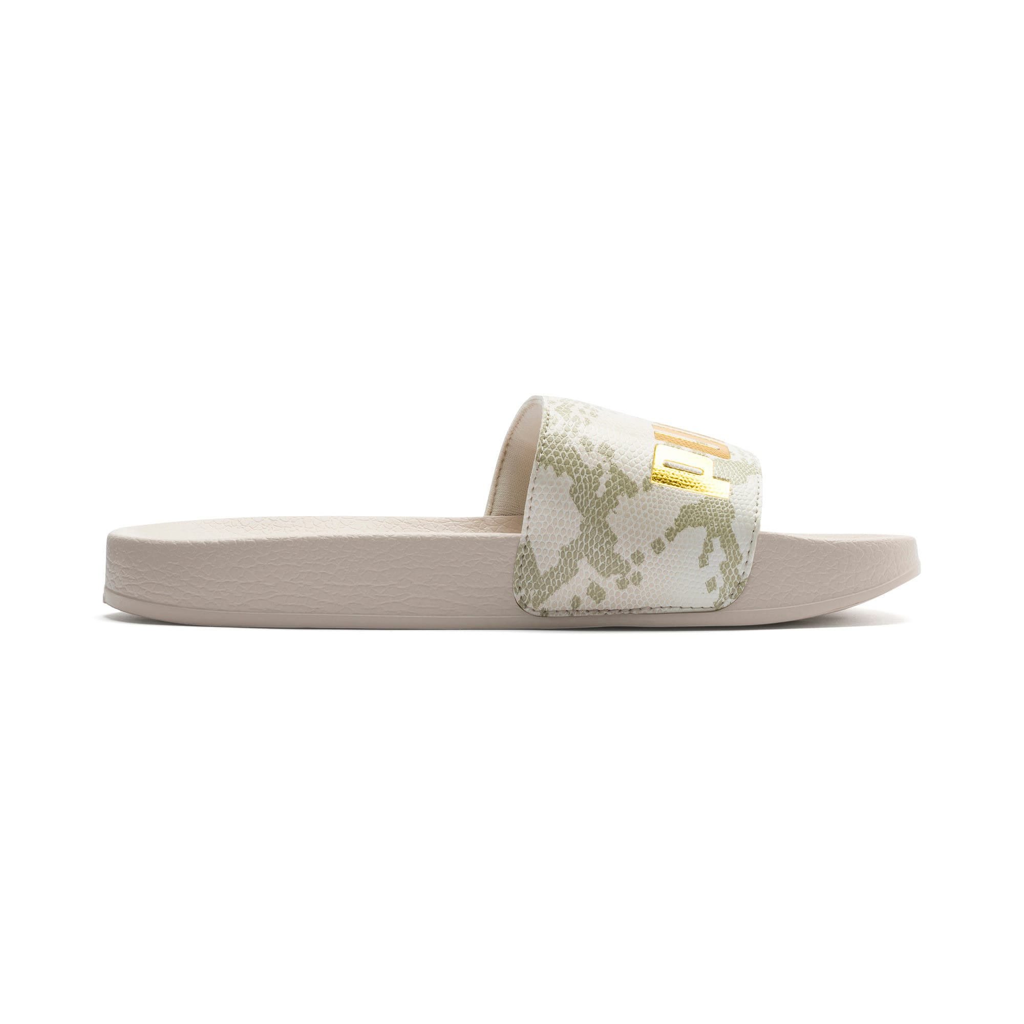 Thumbnail 5 of Leadcat Snake Lux Damen Sandalen, Pastel Parchment-Puma Gold, medium