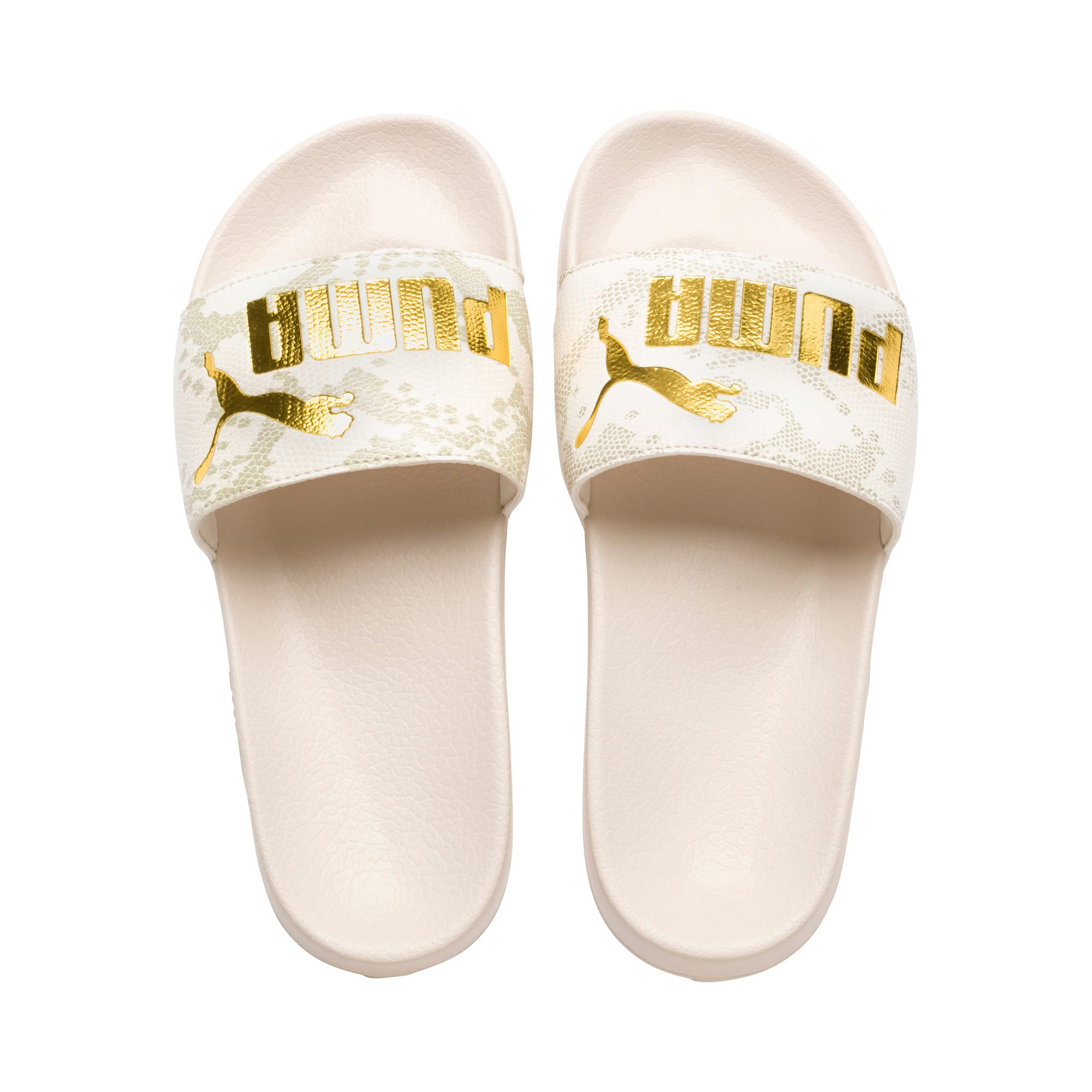 Thumbnail 6 of Leadcat Snake Lux Damen Sandalen, Pastel Parchment-Puma Gold, medium