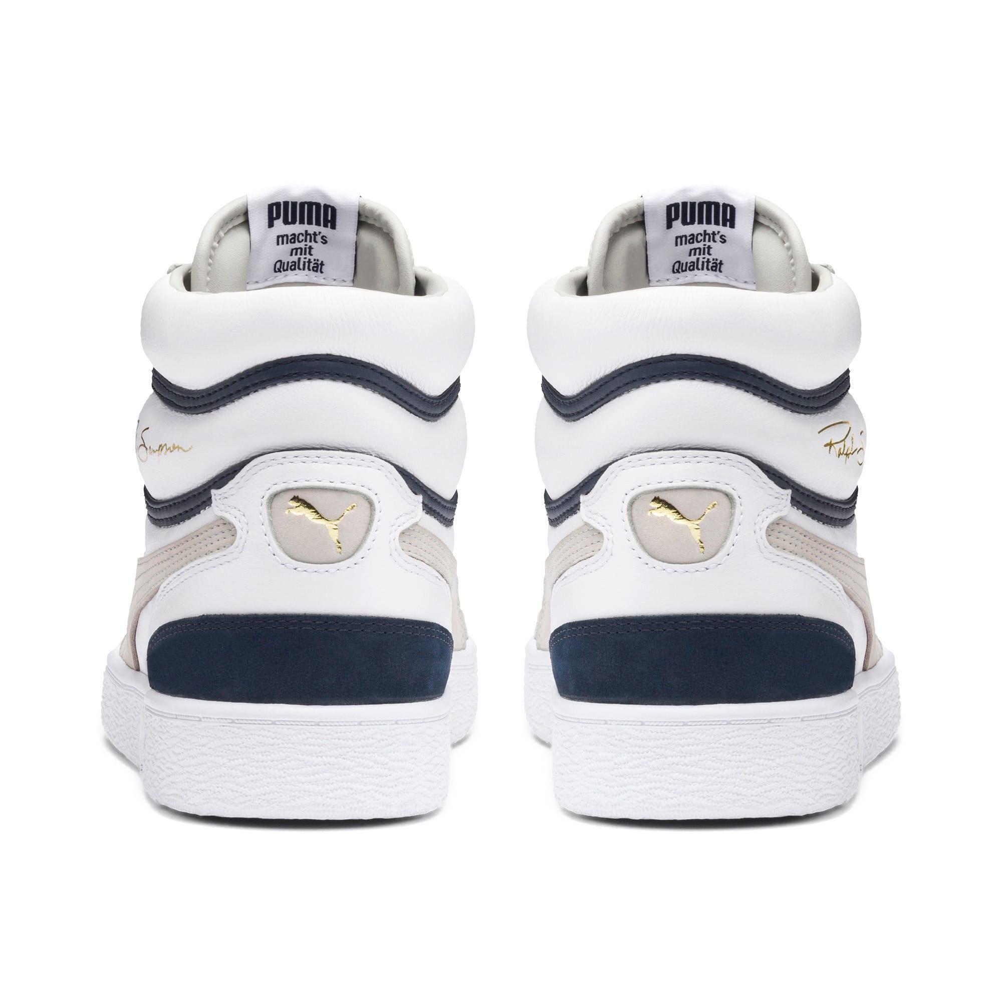 Miniatura 3 de Zapatos deportivos de caña media Ralph Sampson OG, Puma Wht-Gray Violet-Peacoat, mediano
