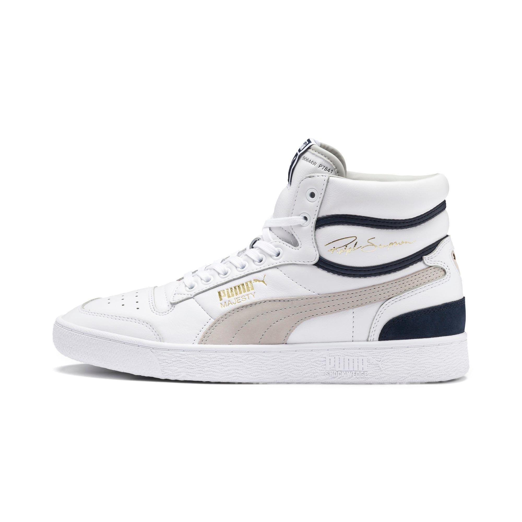 Miniatura 1 de Zapatos deportivos de caña media Ralph Sampson OG, Puma Wht-Gray Violet-Peacoat, mediano