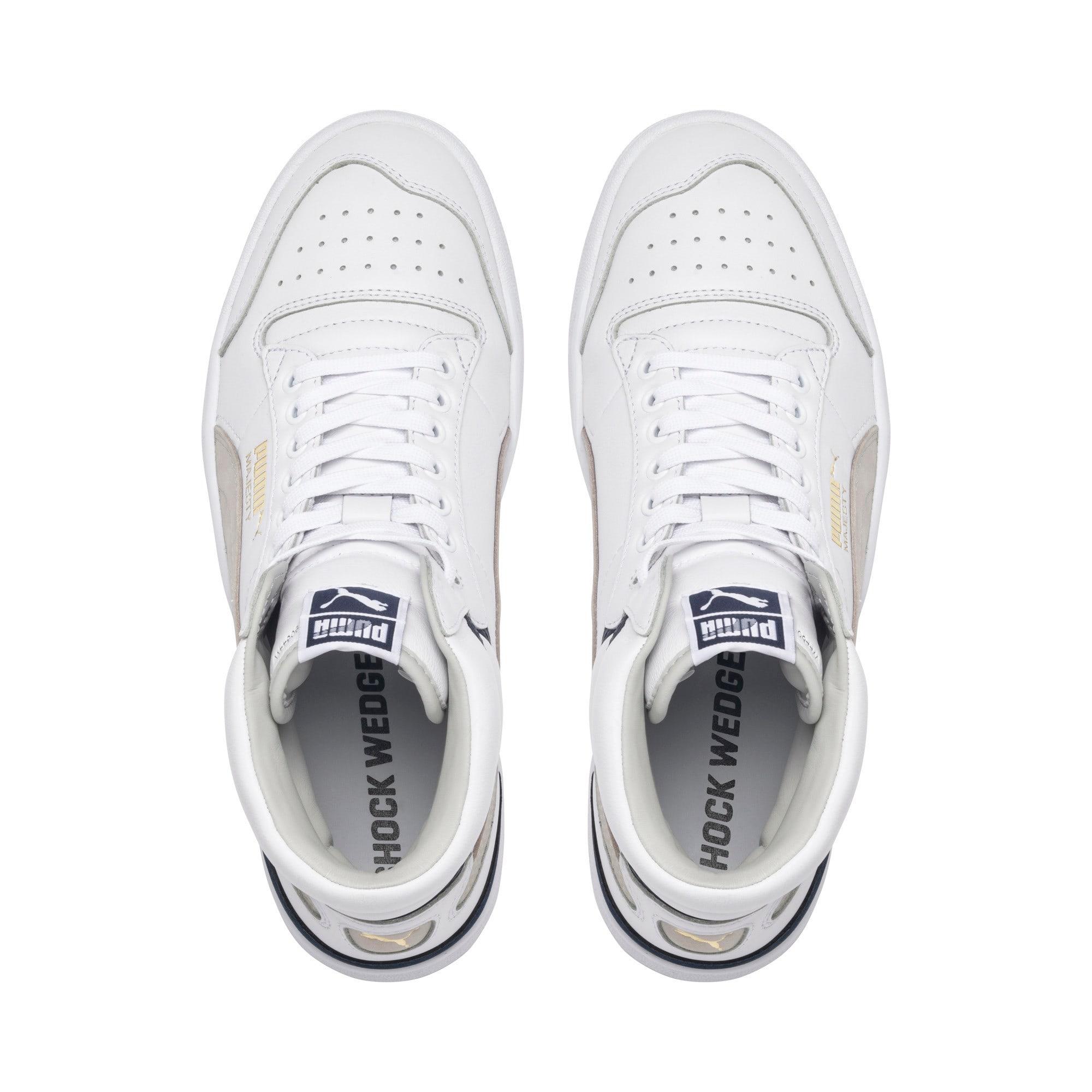 Miniatura 6 de Zapatos deportivos de caña media Ralph Sampson OG, Puma Wht-Gray Violet-Peacoat, mediano