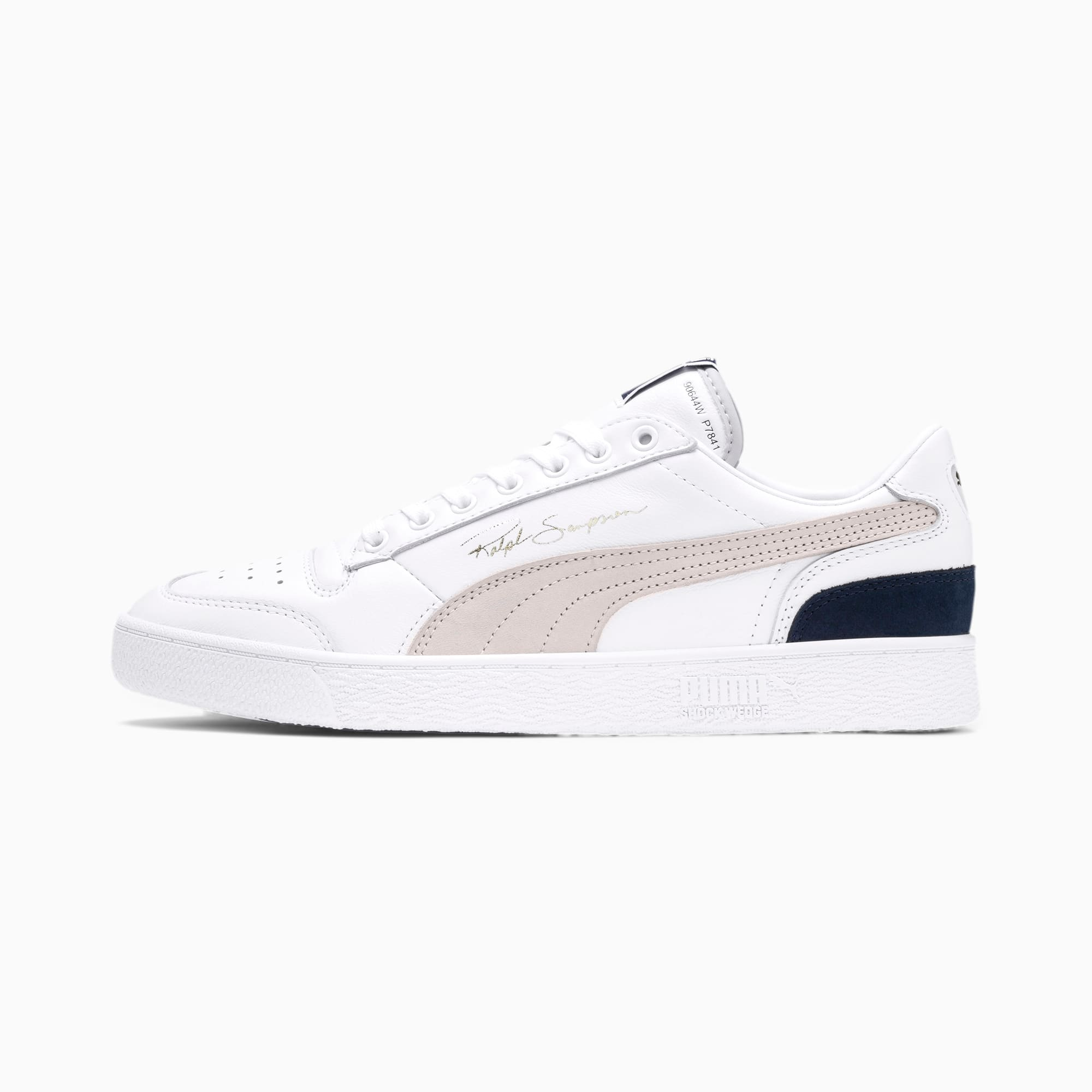 Puma Ralph Sampson Low OGPuma White Gray Violet Peacoat