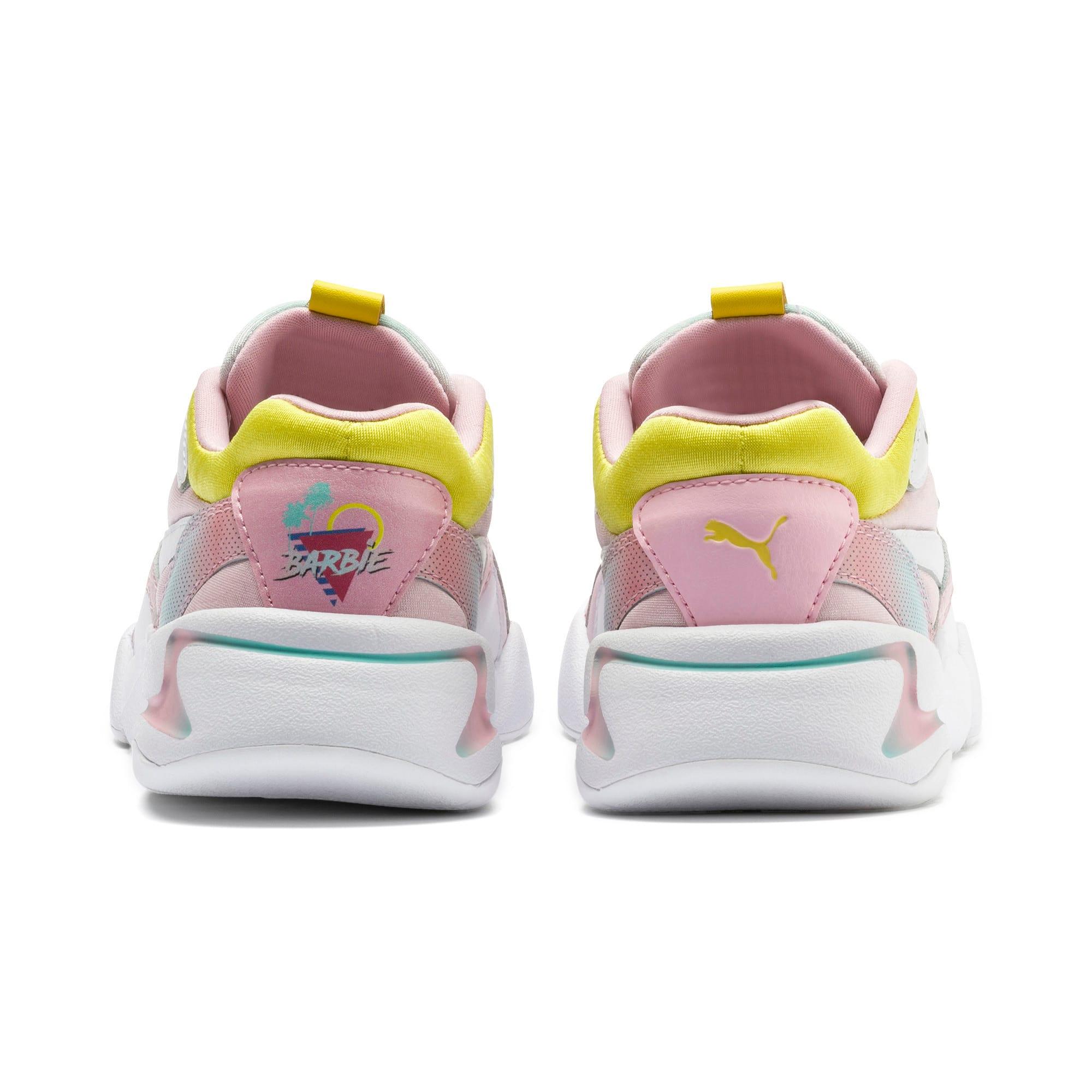 Thumbnail 3 of Nova x Barbie Little Kids' Shoes, Orchid Pink-Puma White, medium