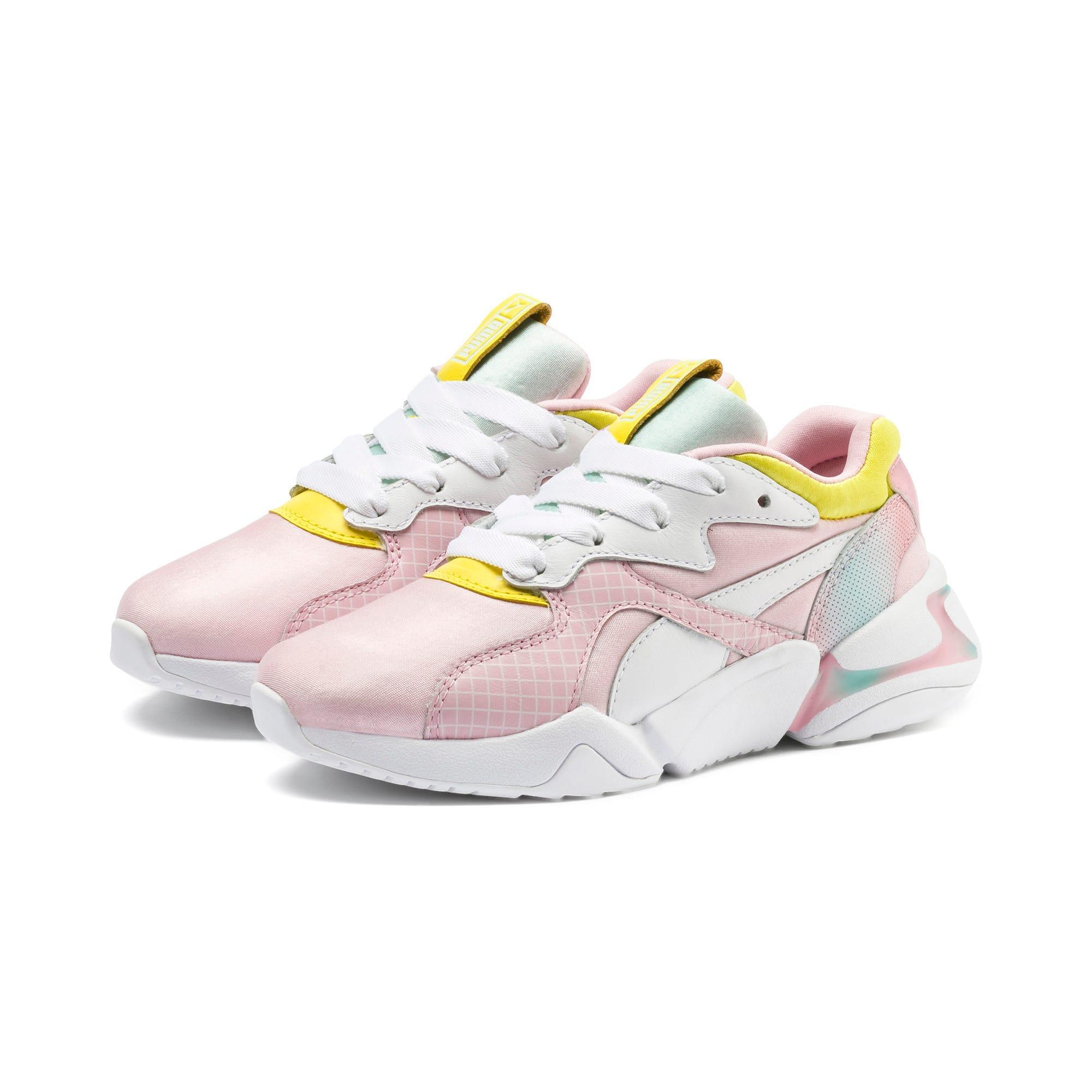 Thumbnail 2 of Nova x Barbie Little Kids' Shoes, Orchid Pink-Puma White, medium