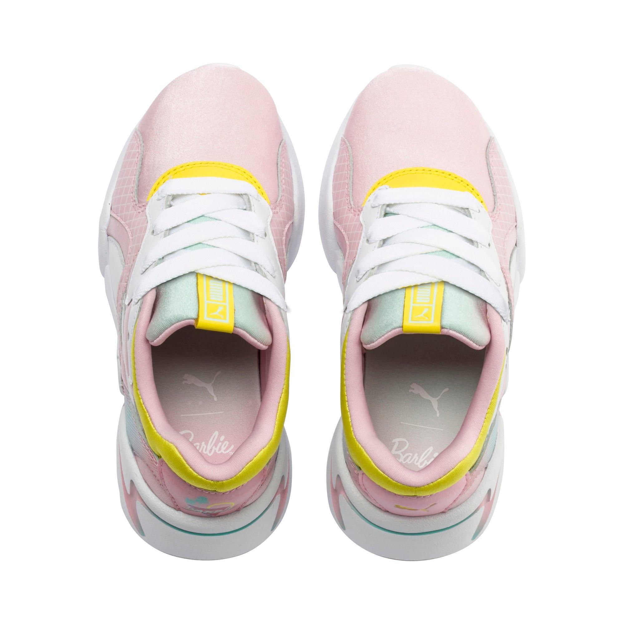 Thumbnail 6 of Nova x Barbie Little Kids' Shoes, Orchid Pink-Puma White, medium