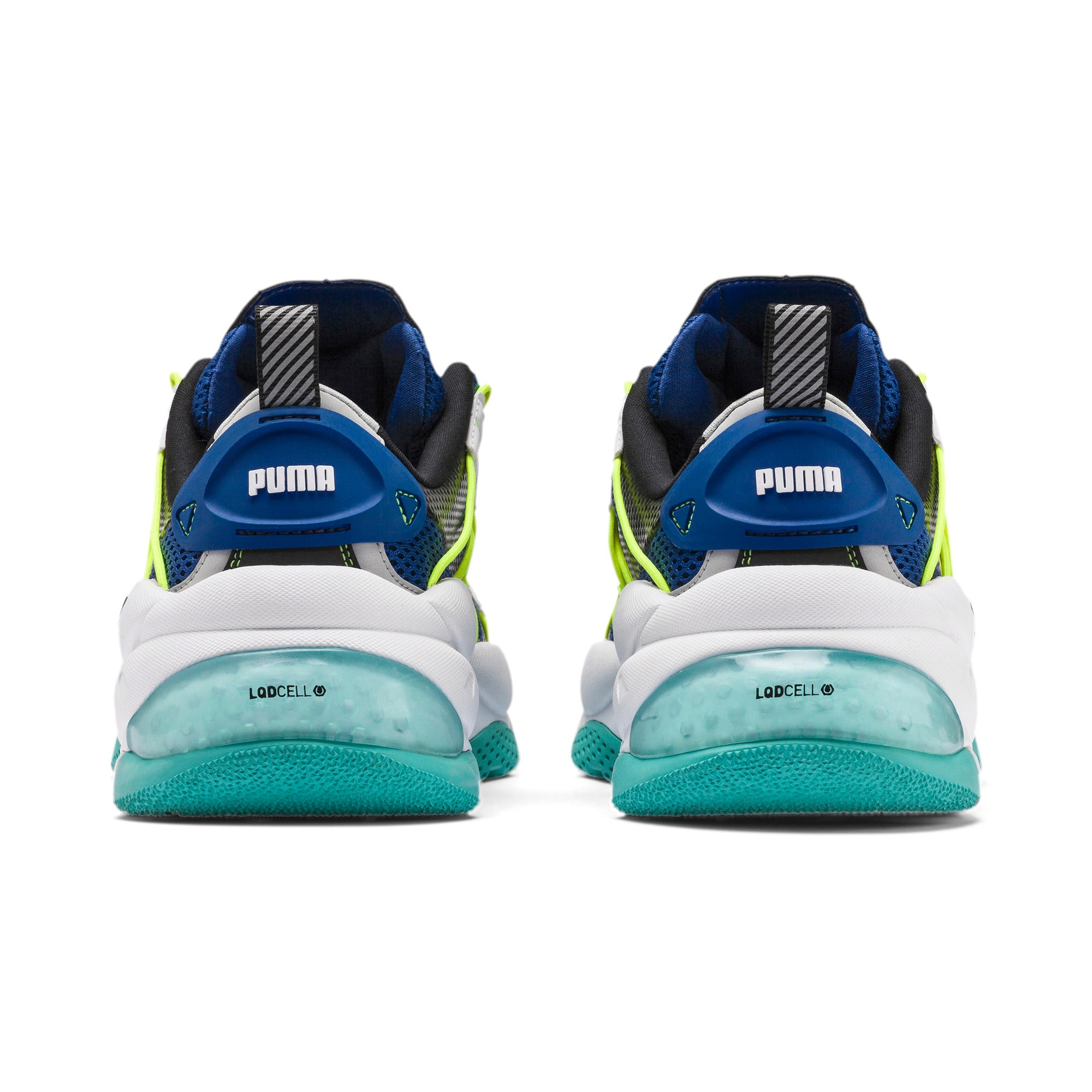 Thumbnail 3 of LQDCELL Omega Training Shoes, Puma Black-Galaxy Blue, medium