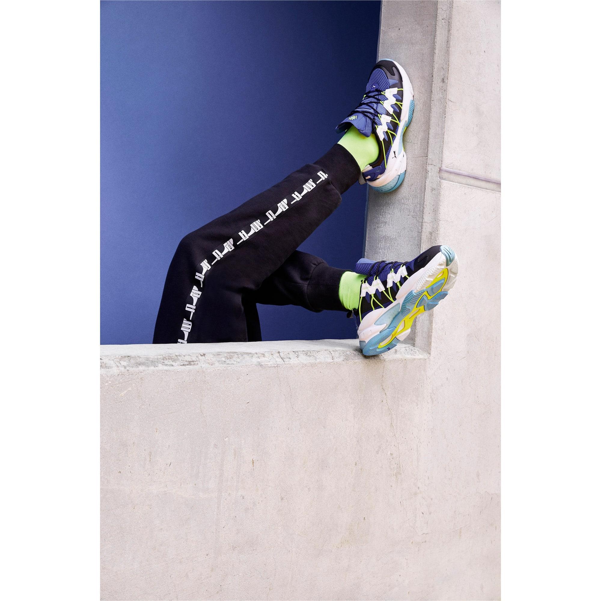 Thumbnail 7 of LQDCELL Omega Training Shoes, Puma Black-Galaxy Blue, medium