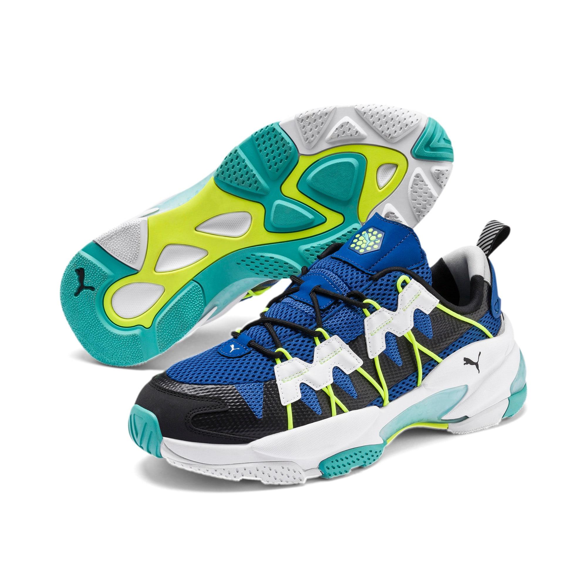 Thumbnail 2 of LQDCELL Omega Training Shoes, Puma Black-Galaxy Blue, medium