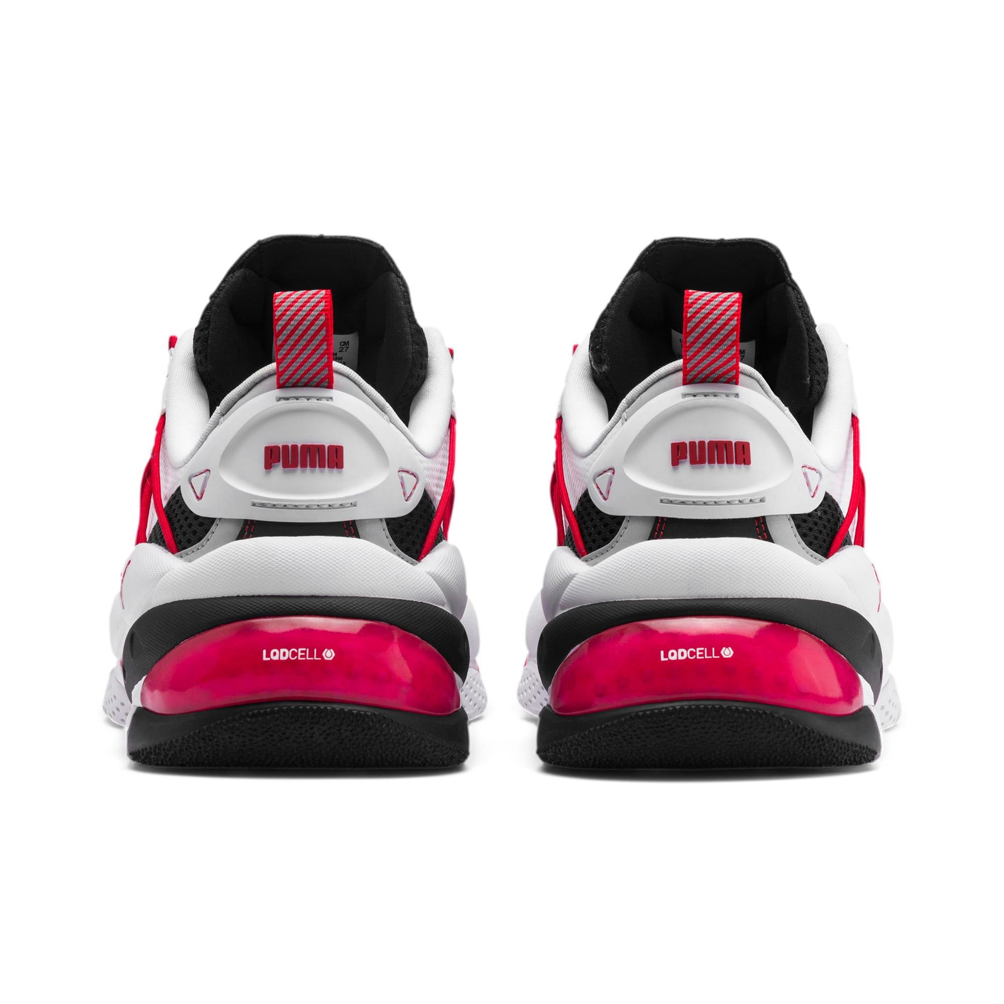Thumbnail 3 of LQDCELL Omega Training Shoes, Puma Black-Puma White, medium