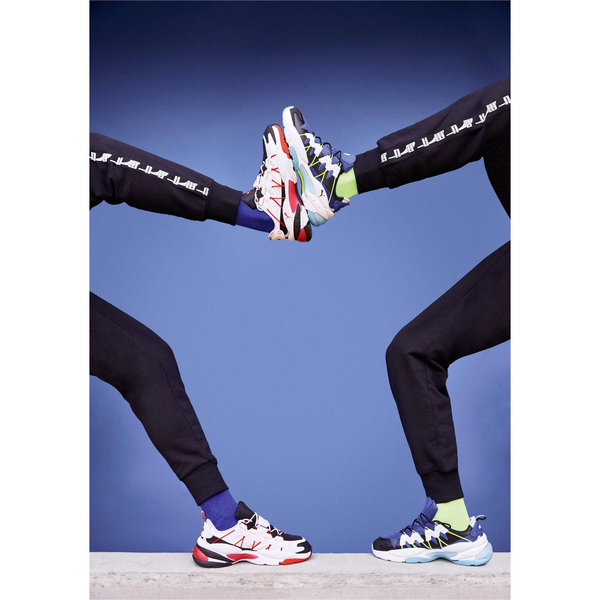Thumbnail 8 of LQDCELL Omega Training Shoes, Puma Black-Puma White, medium