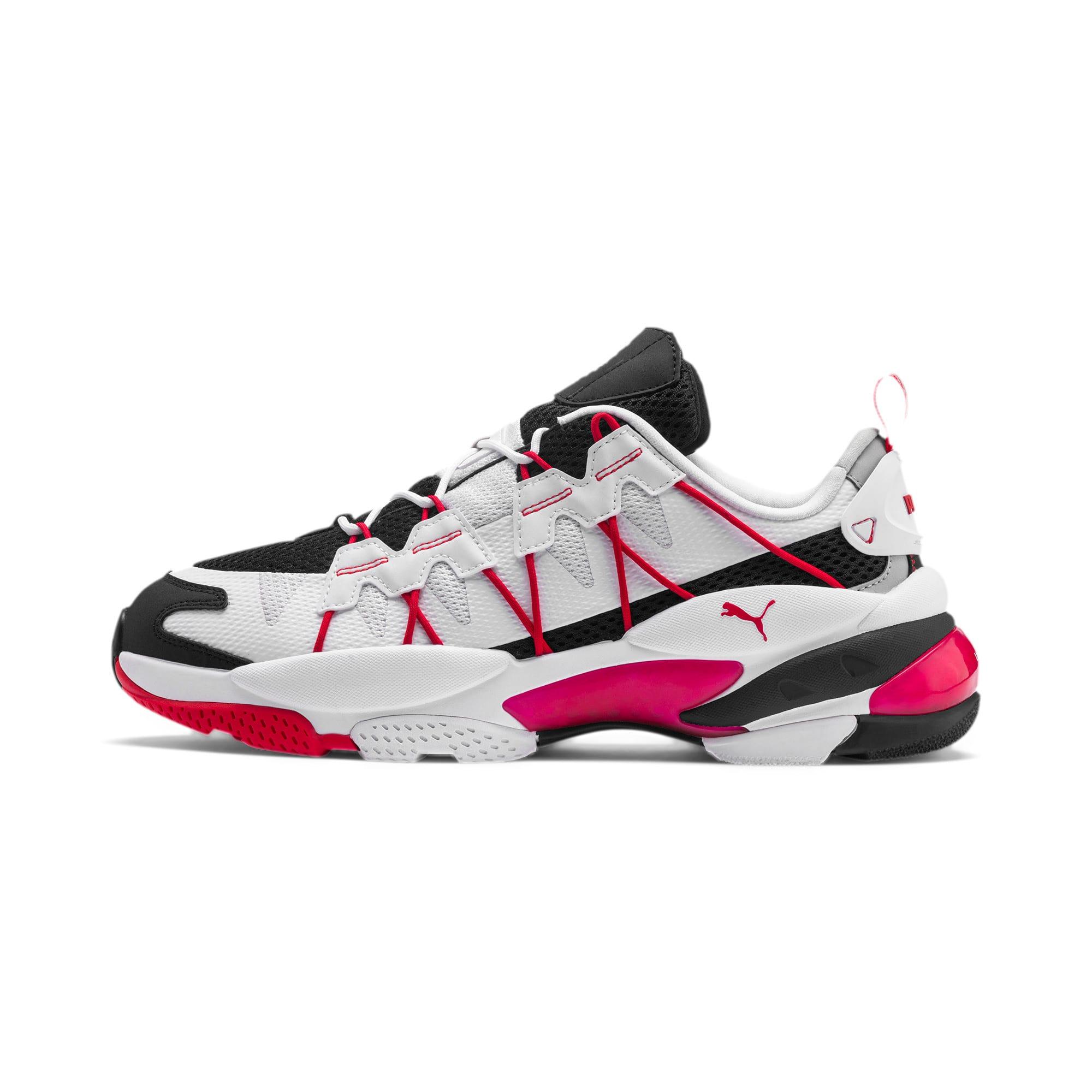 Thumbnail 1 of LQDCELL Omega Training Shoes, Puma Black-Puma White, medium
