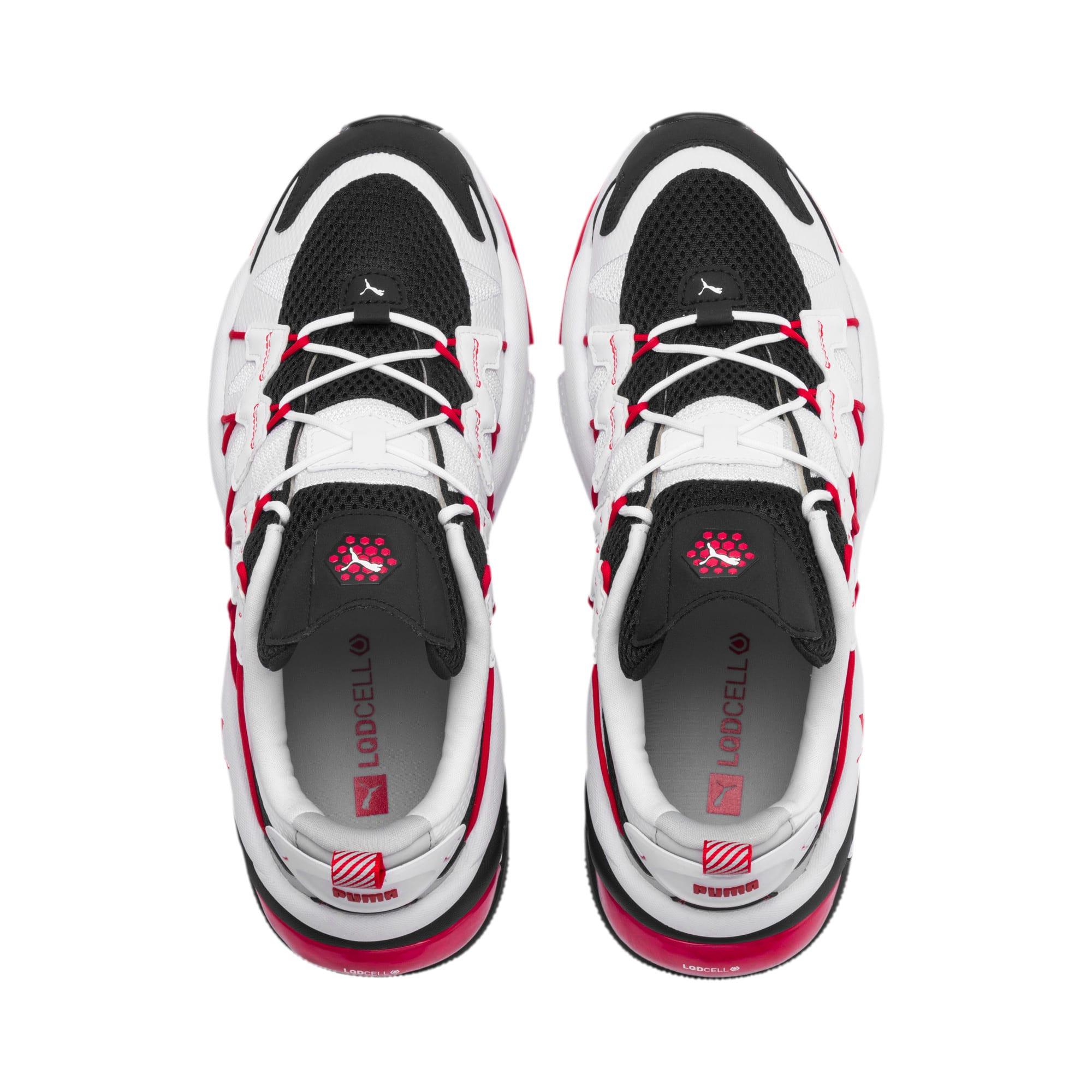 Thumbnail 6 of LQDCELL Omega Training Shoes, Puma Black-Puma White, medium