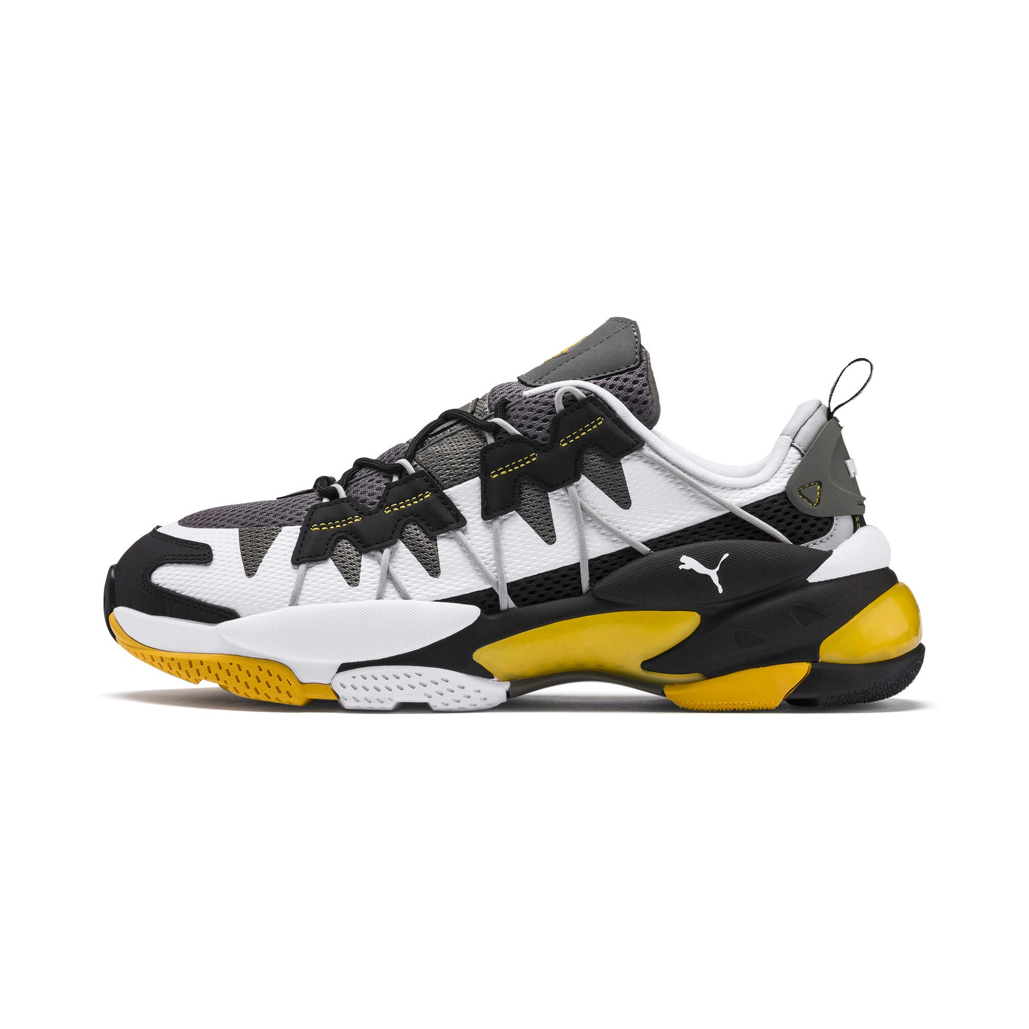 Thumbnail 1 of LQDCELL Omega Training Shoes, Puma Black-CASTLEROCK, medium