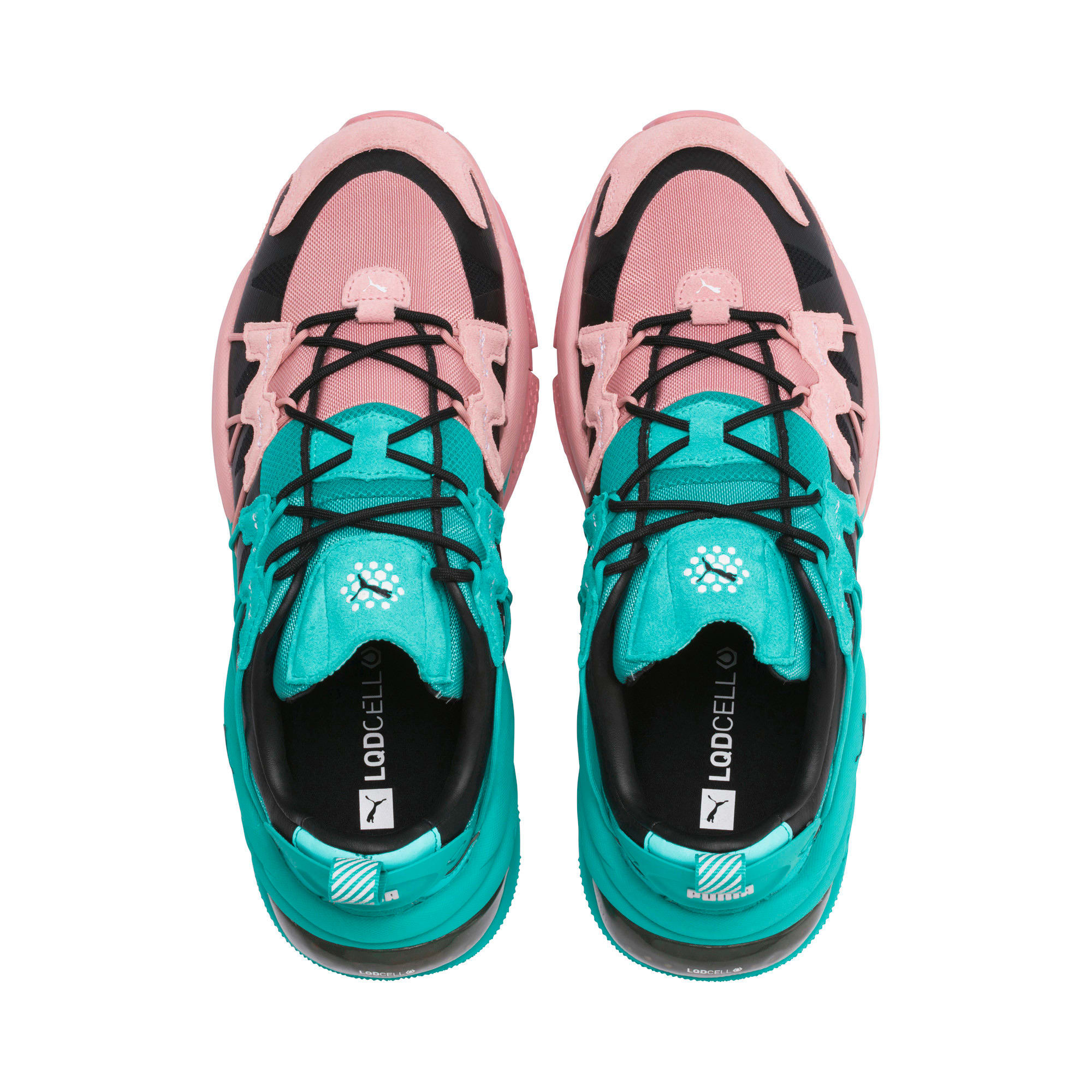 Thumbnail 6 of LQDCELL Omega Manga Cult Training Shoes, Bridal Rose-Blue Turquoise, medium