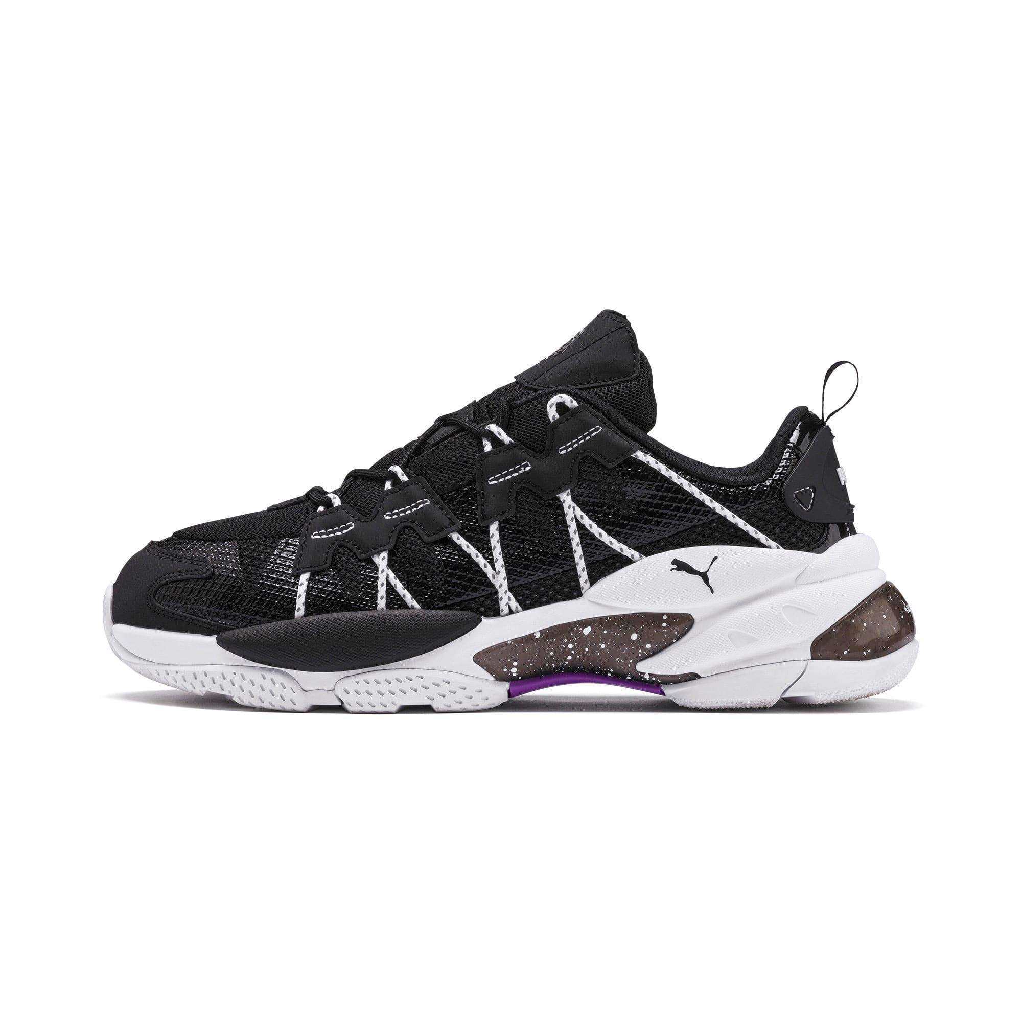 Thumbnail 1 of LQDCELL Omega Density Sneaker, Puma Black, medium