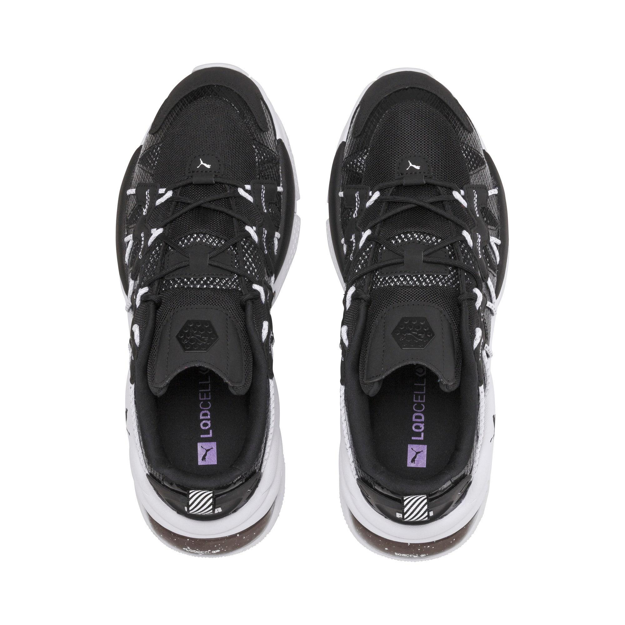 Thumbnail 6 of LQDCELL Omega Density Sneaker, Puma Black, medium