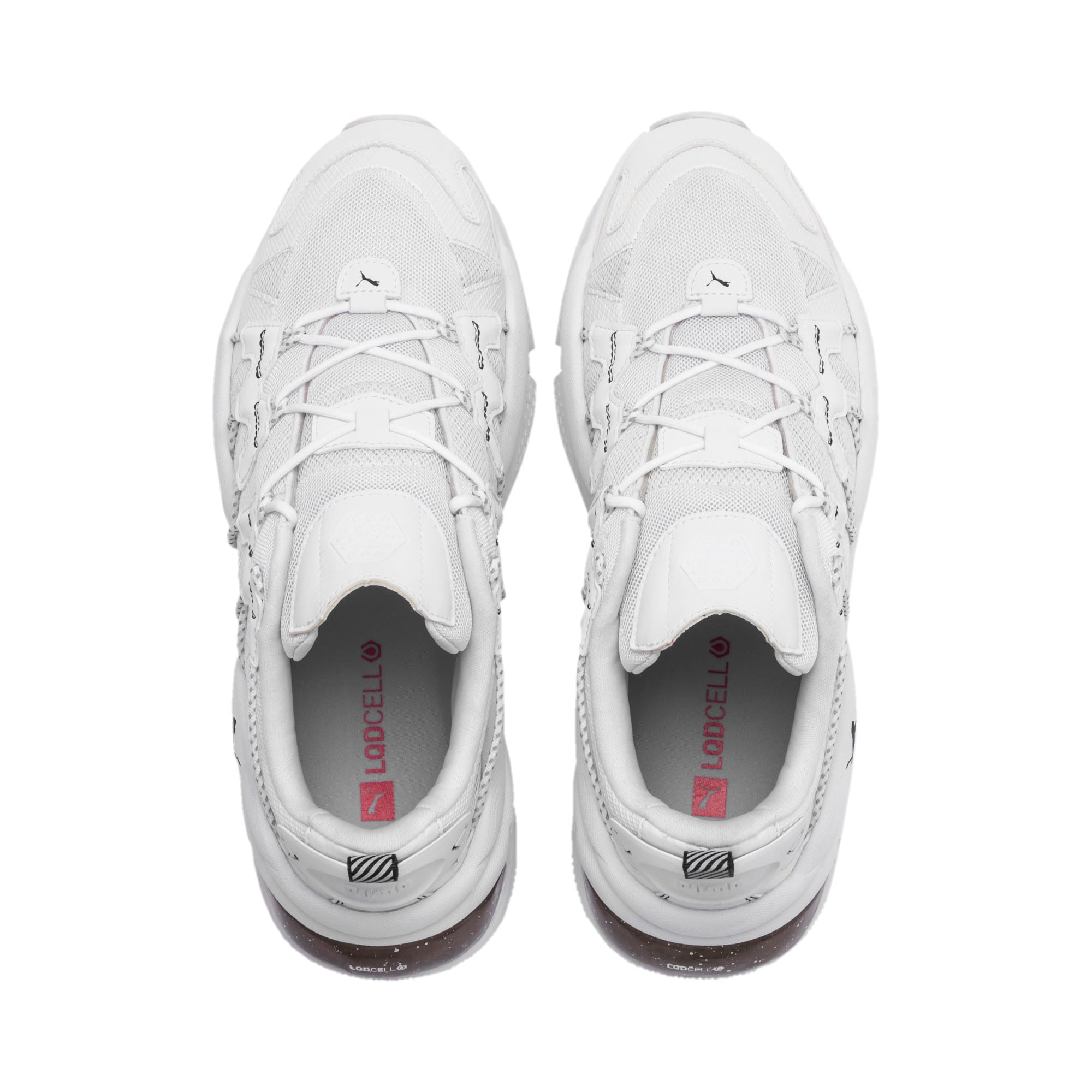 Thumbnail 4 of LQDCELL Omega Density Trainers, Puma White, medium-IND