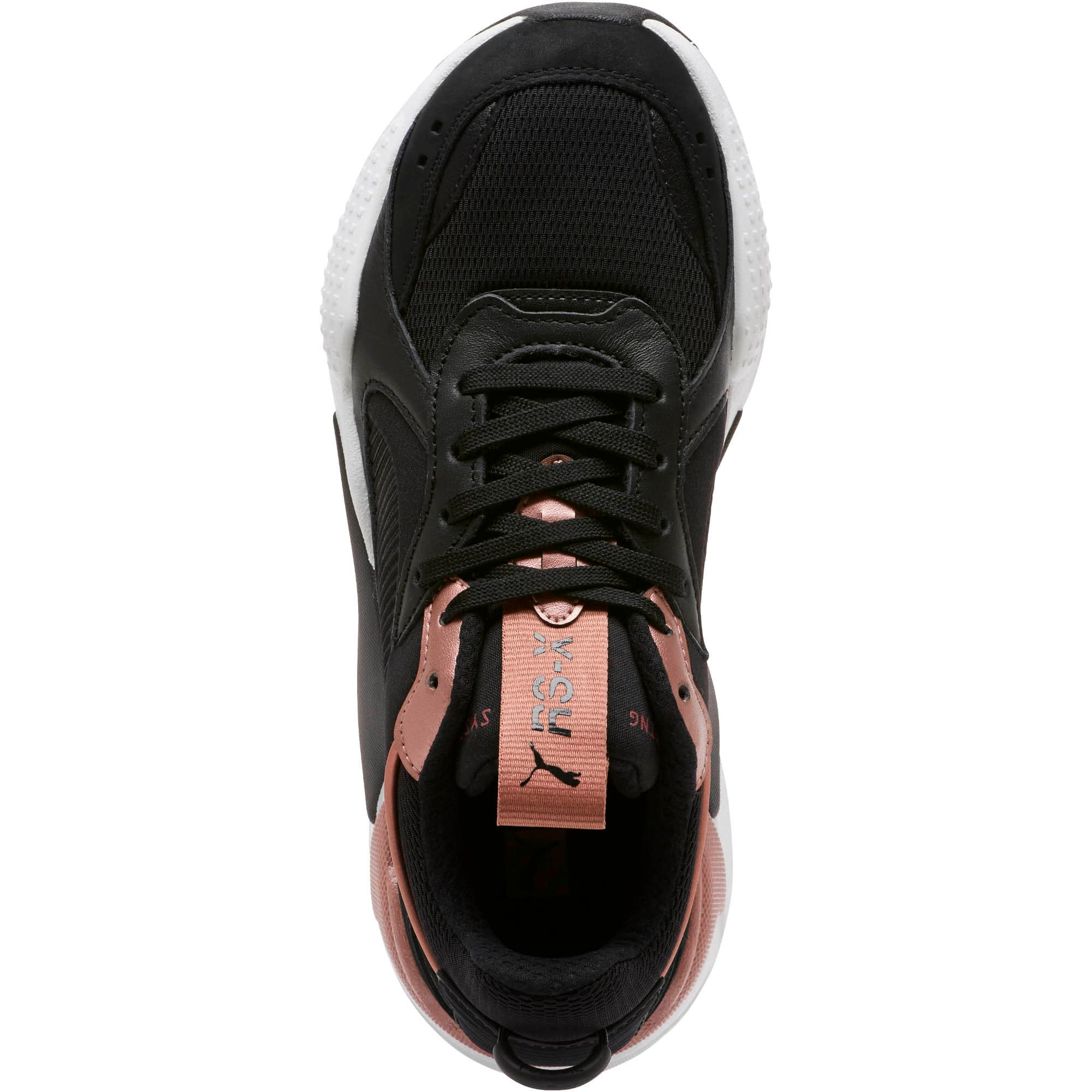 Thumbnail 5 of RS-X Trophy Women's Sneakers, Puma Black-Rose Gold, medium