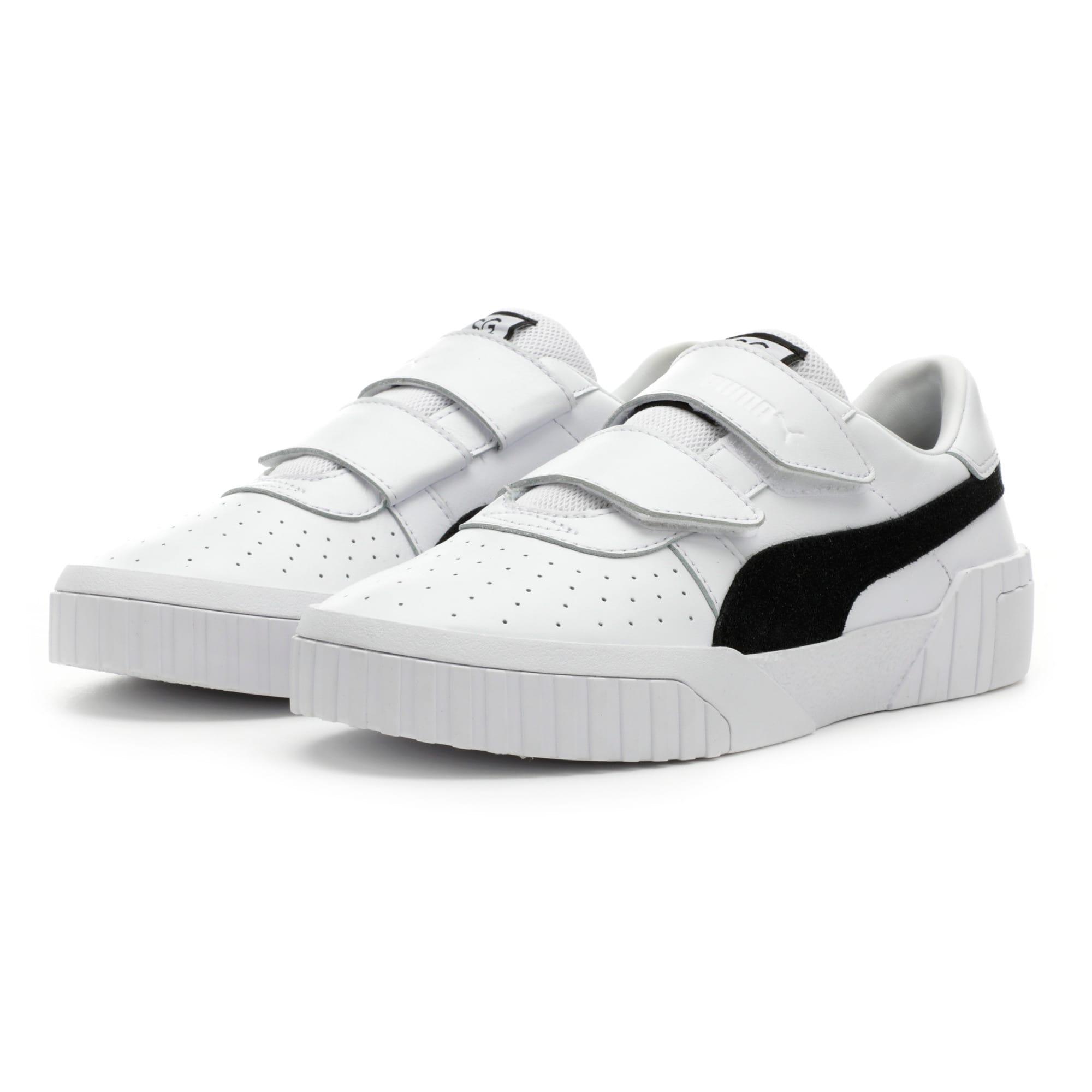 Thumbnail 3 van PUMA x SELENA GOMEZ Cali sportschoenen voor dames, Puma White-Puma Black, medium