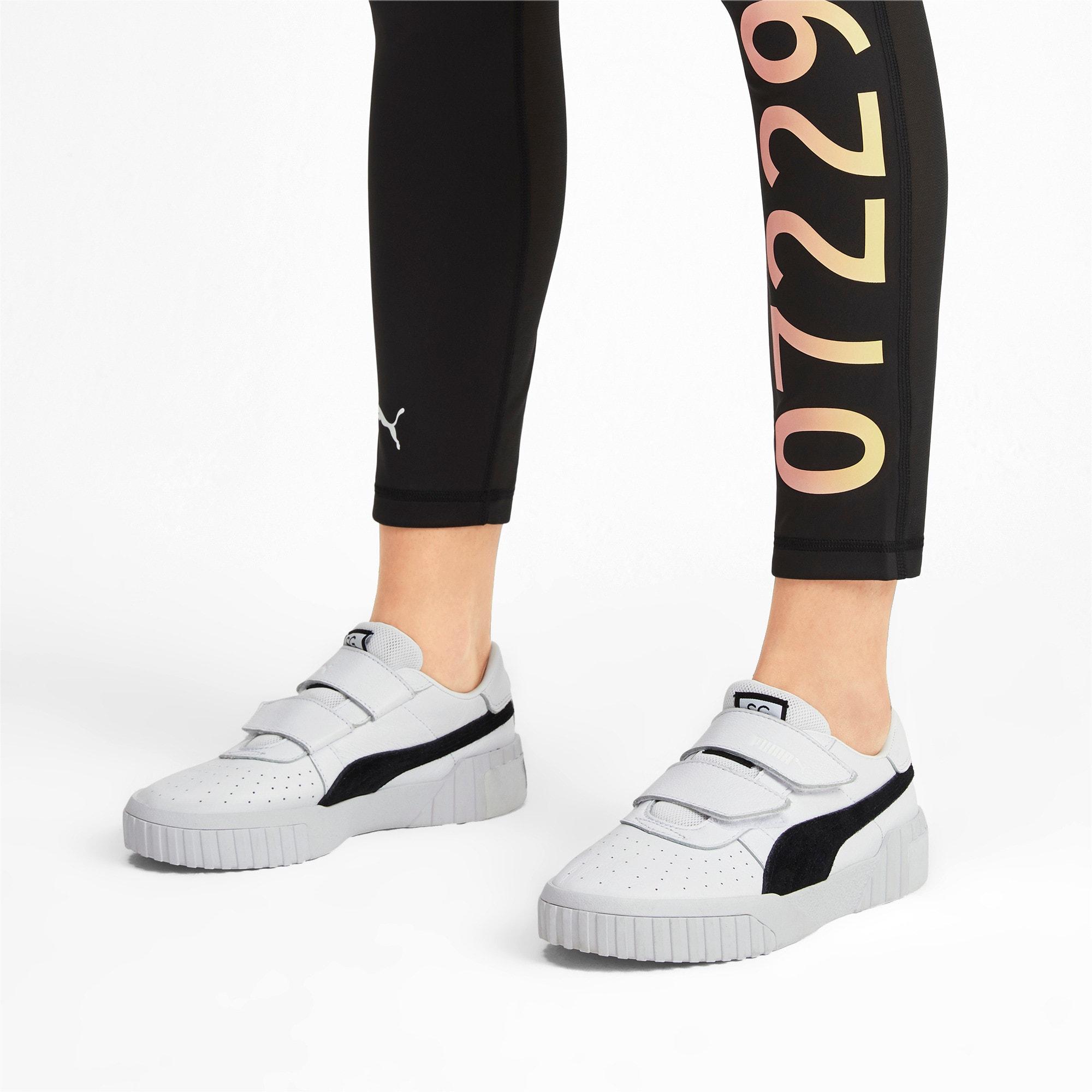 Thumbnail 2 van PUMA x SELENA GOMEZ Cali sportschoenen voor dames, Puma White-Puma Black, medium