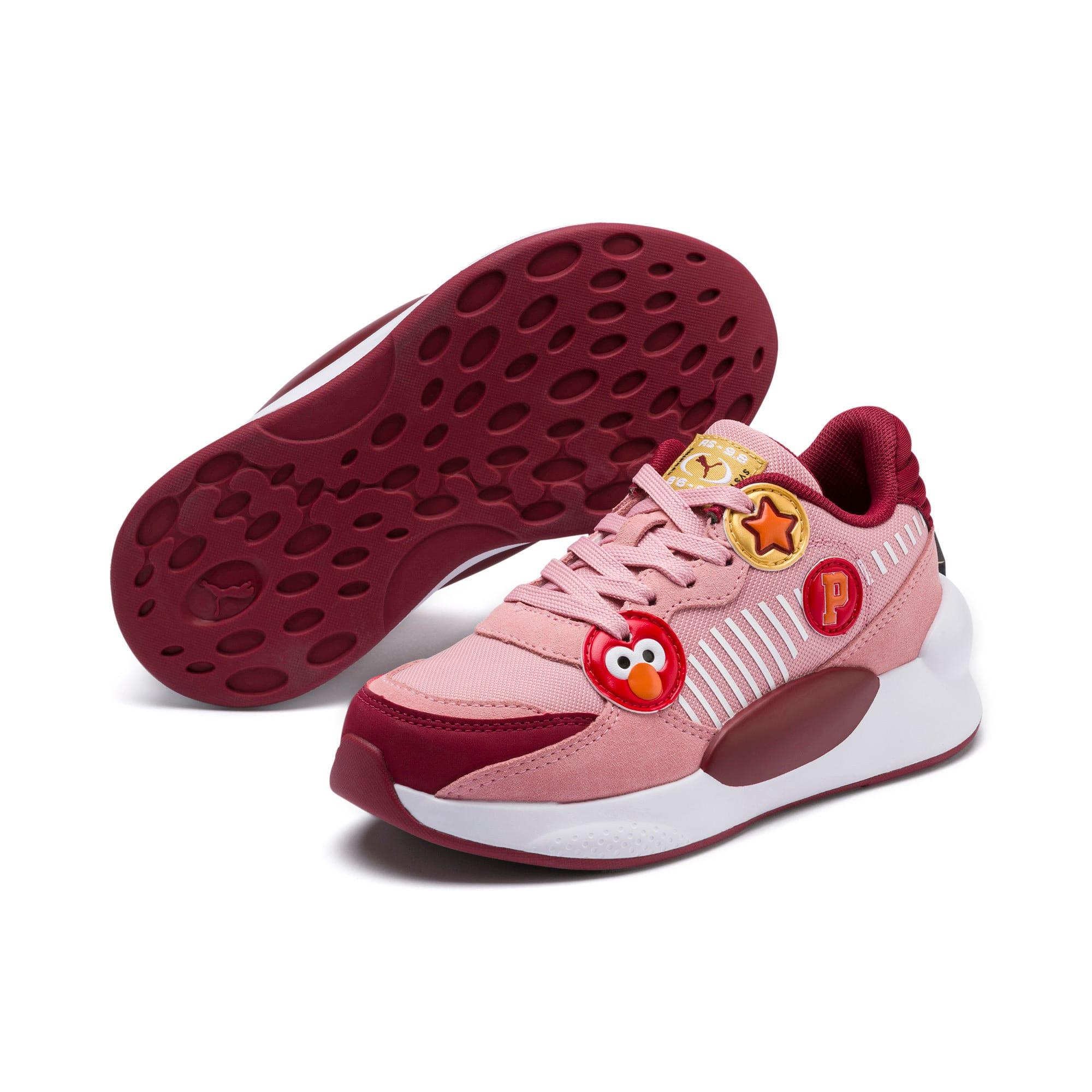 Thumbnail 2 of PUMA x SESAME STREET 50 RS 9.8 Little Kids' Shoes, Bridal Rose-Rhubarb, medium