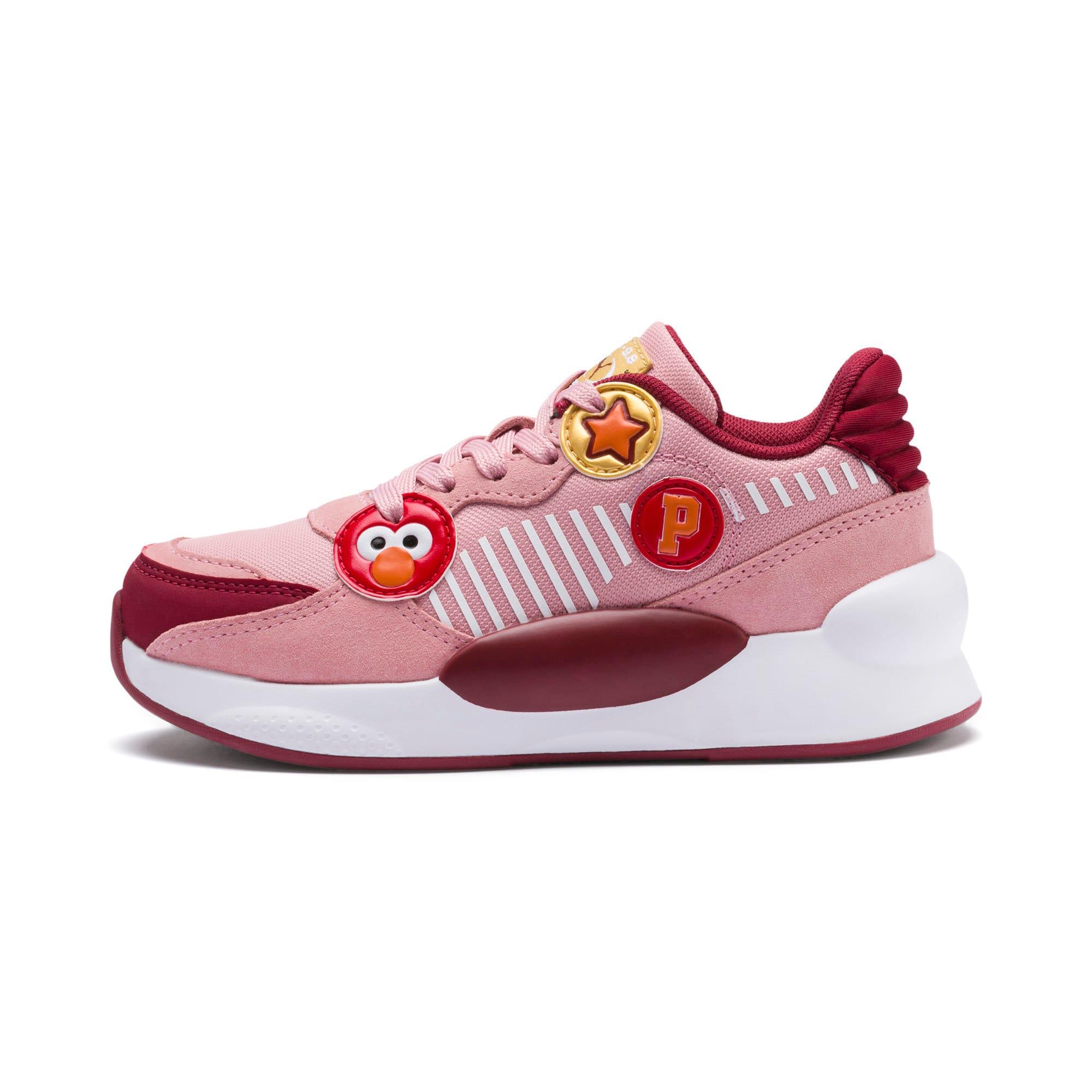 Thumbnail 1 of PUMA x SESAME STREET 50 RS 9.8 Little Kids' Shoes, Bridal Rose-Rhubarb, medium