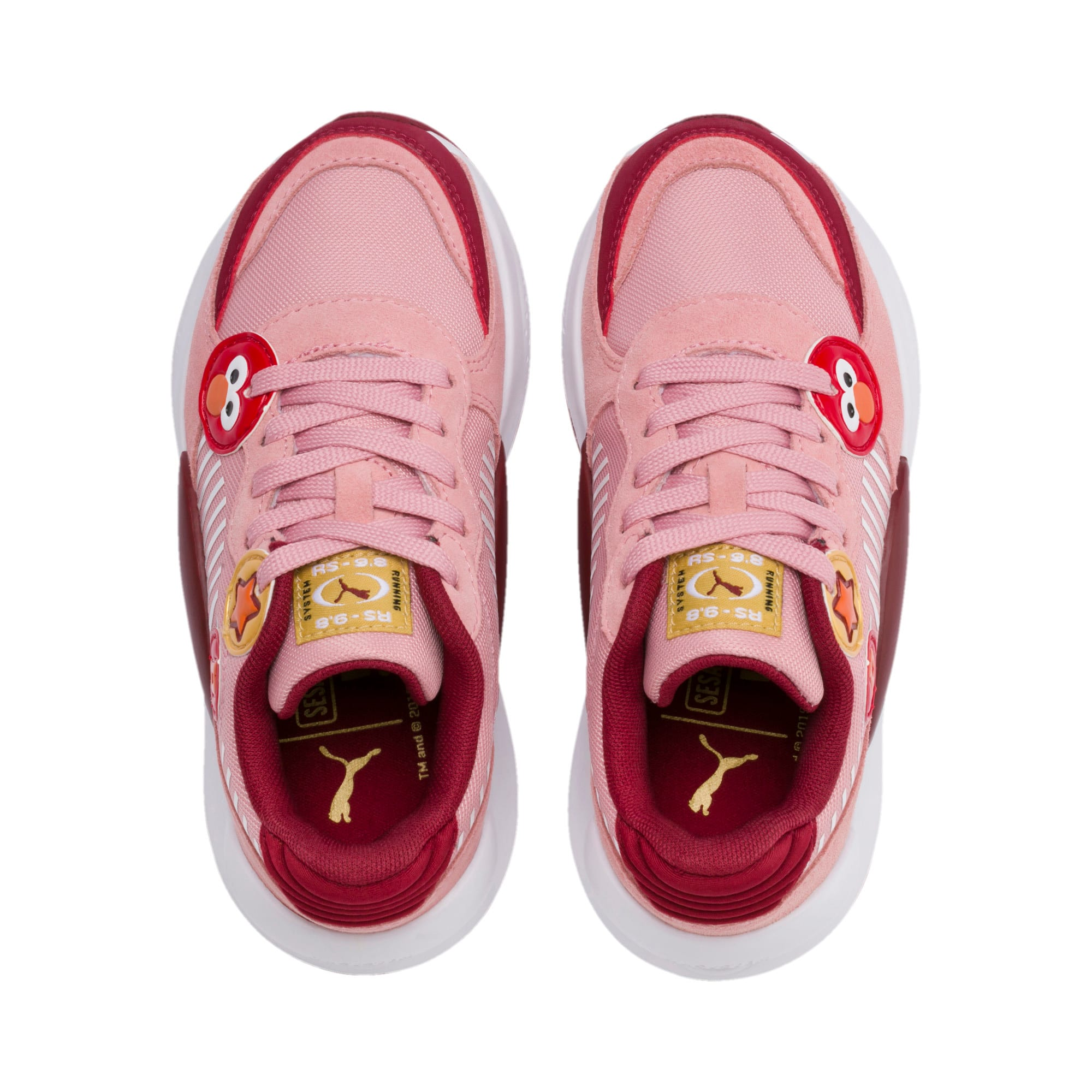 Thumbnail 6 of PUMA x SESAME STREET 50 RS 9.8 Little Kids' Shoes, Bridal Rose-Rhubarb, medium