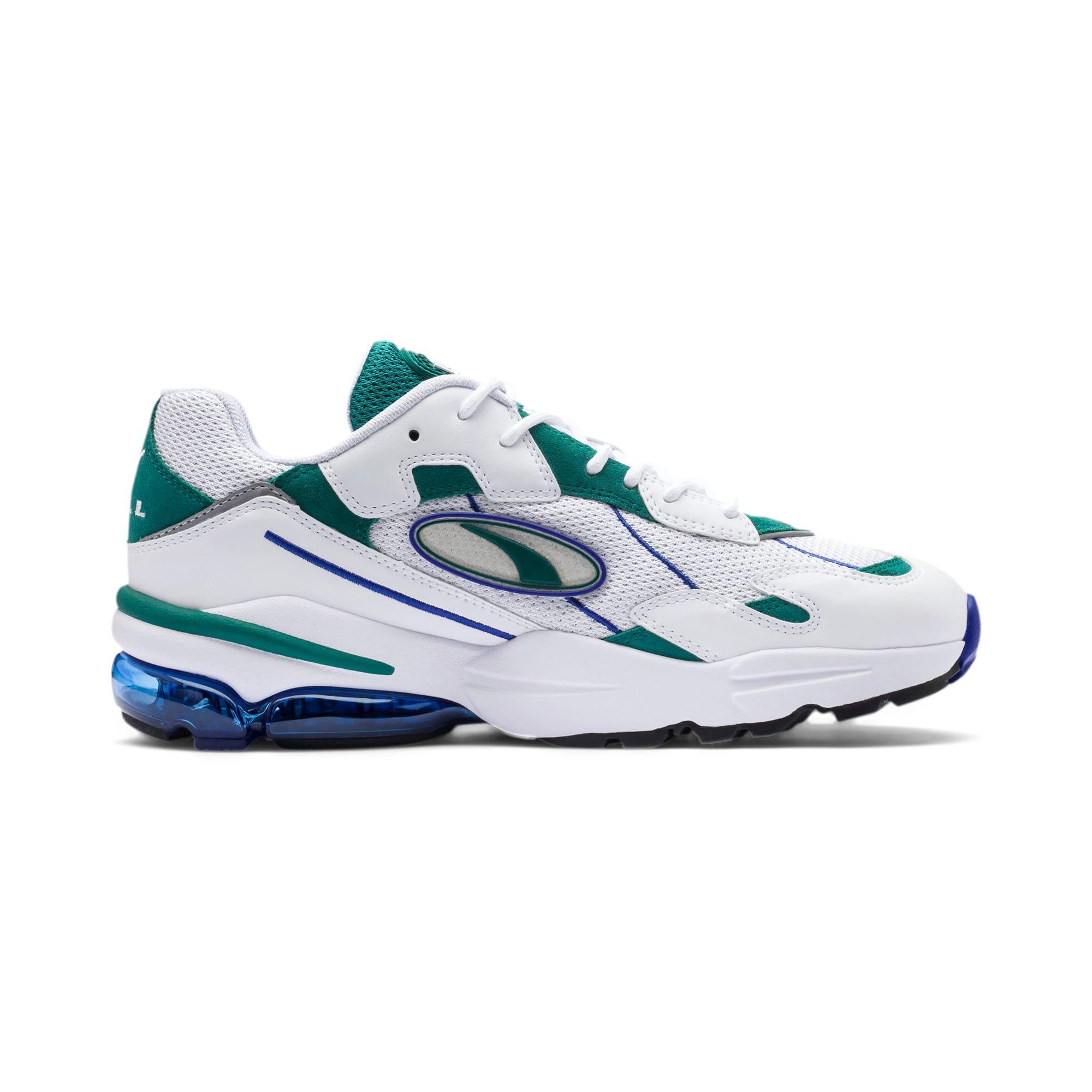 Thumbnail 6 of CELL Ultra OG Pack Sneakers, Puma White-Teal Green, medium