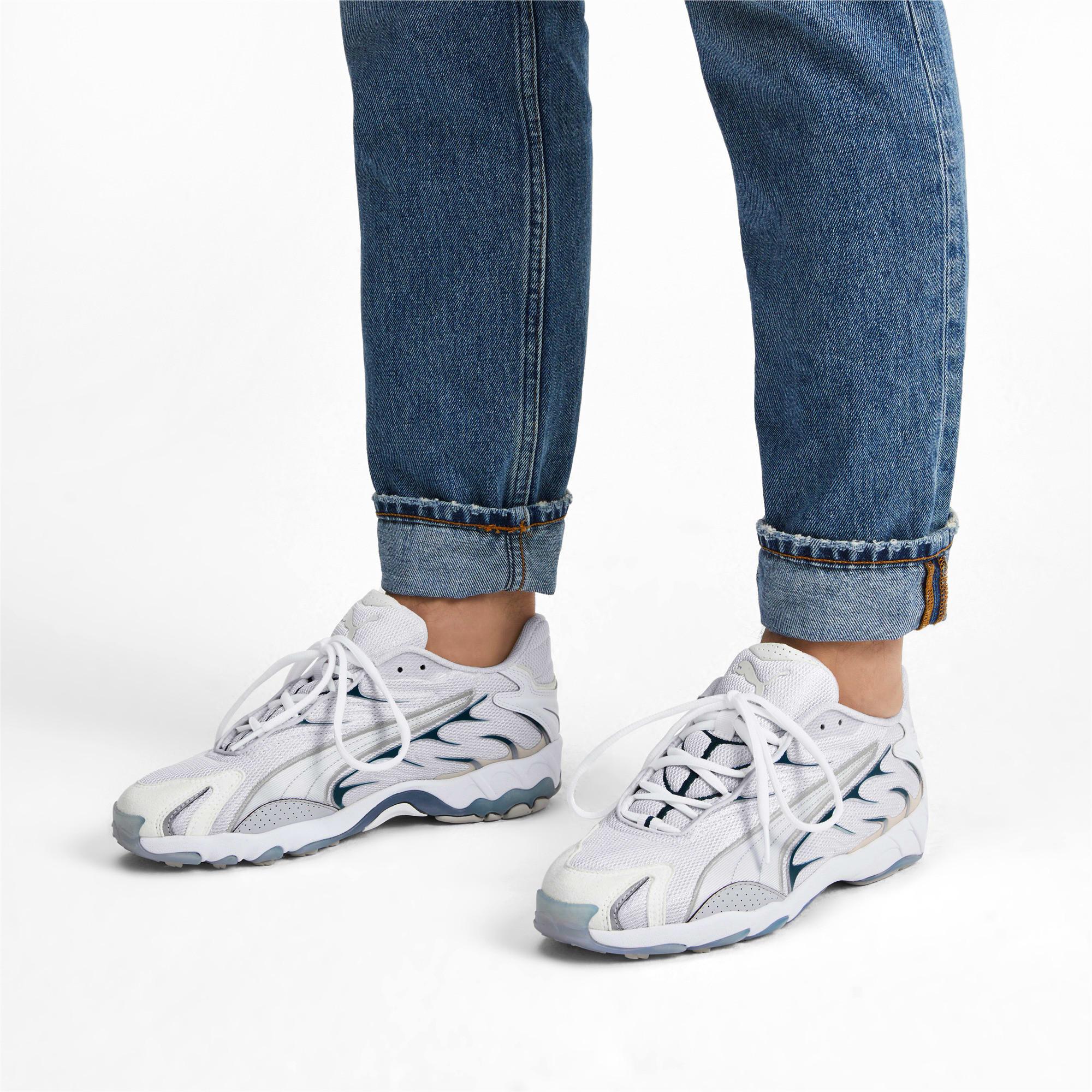 Thumbnail 2 of Inhale Sneakers, Puma White-Gray Violet, medium