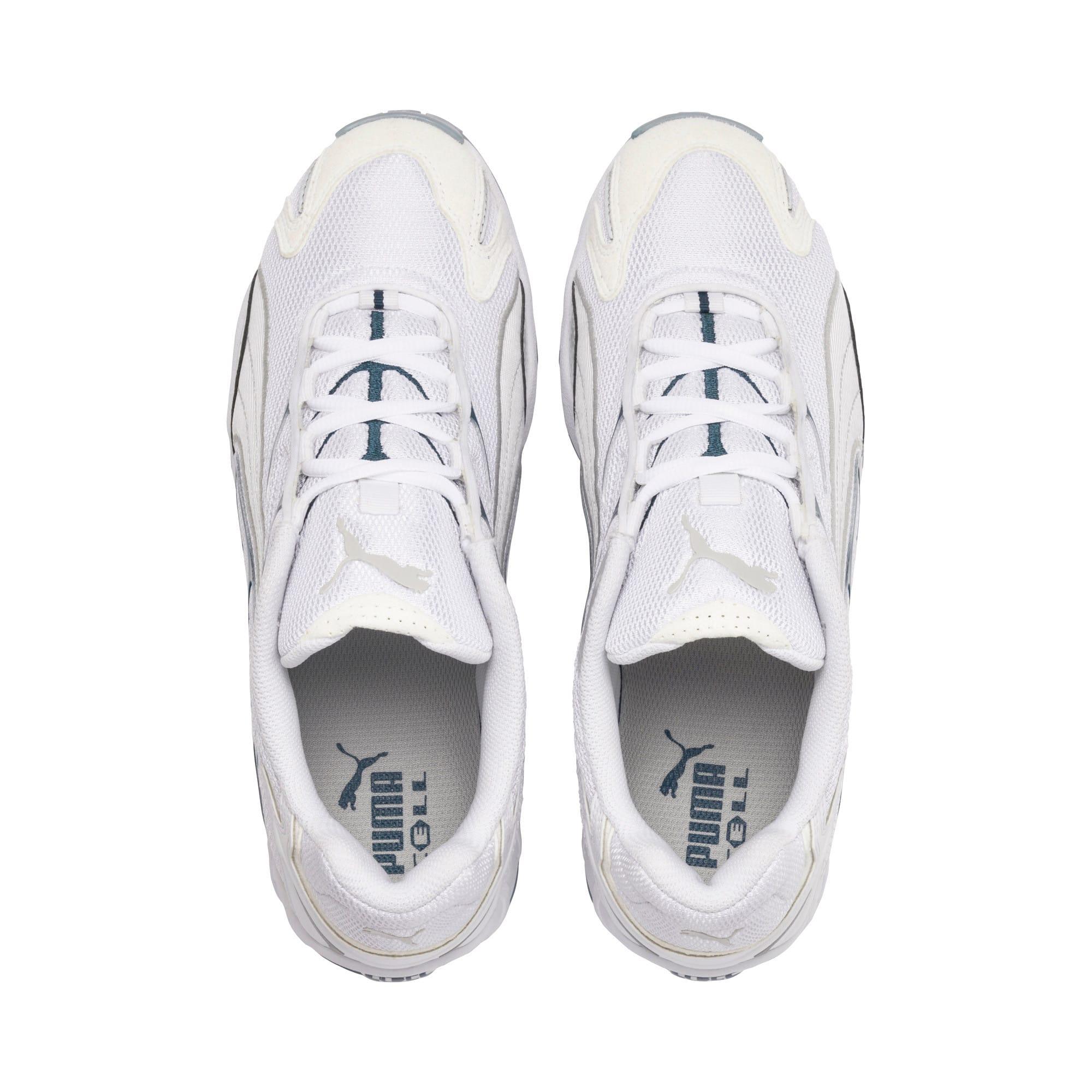 Thumbnail 7 of Inhale Sneakers, Puma White-Gray Violet, medium