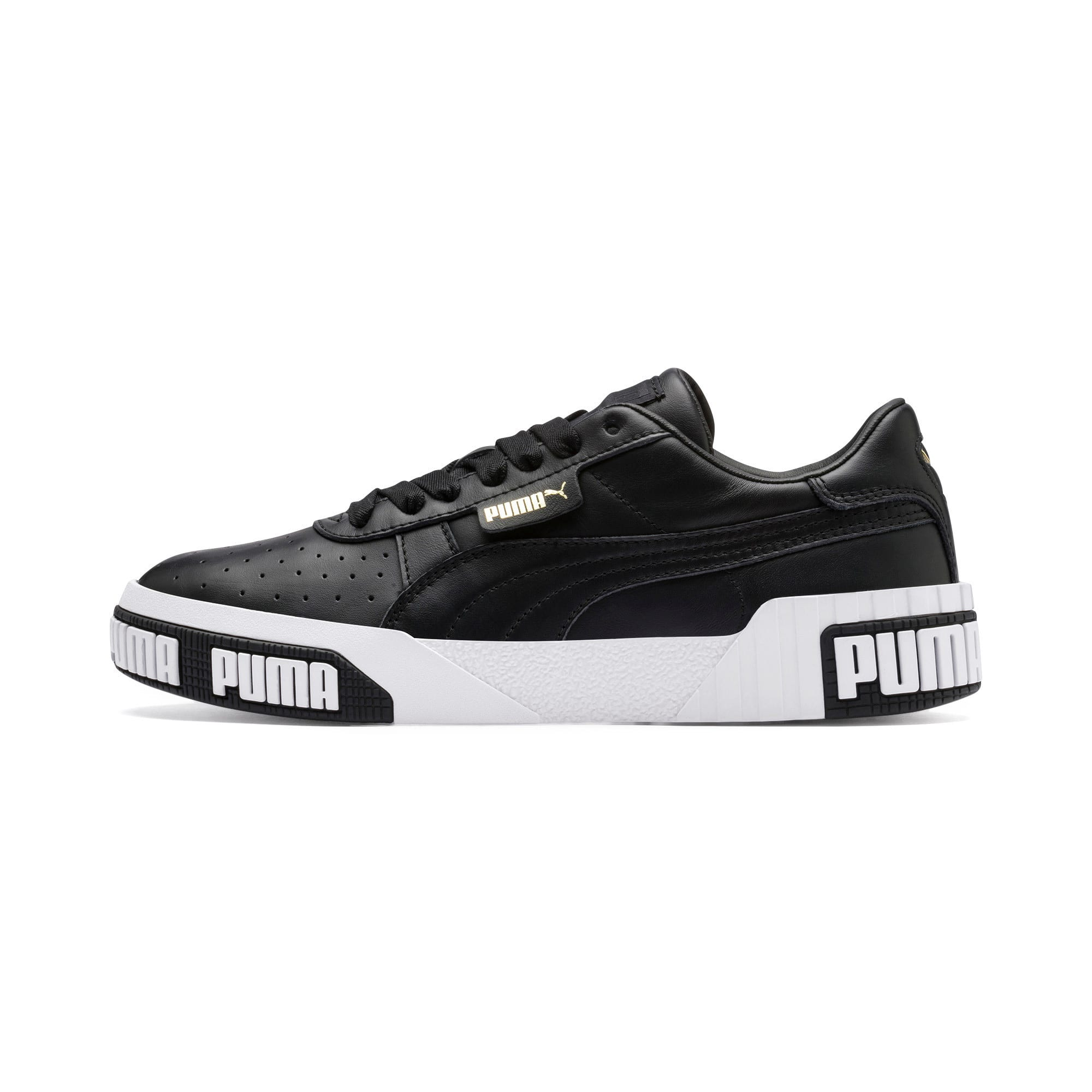 Thumbnail 1 of Damskie buty sportowe Cali Bold, Puma Black-Metallic Gold, medium
