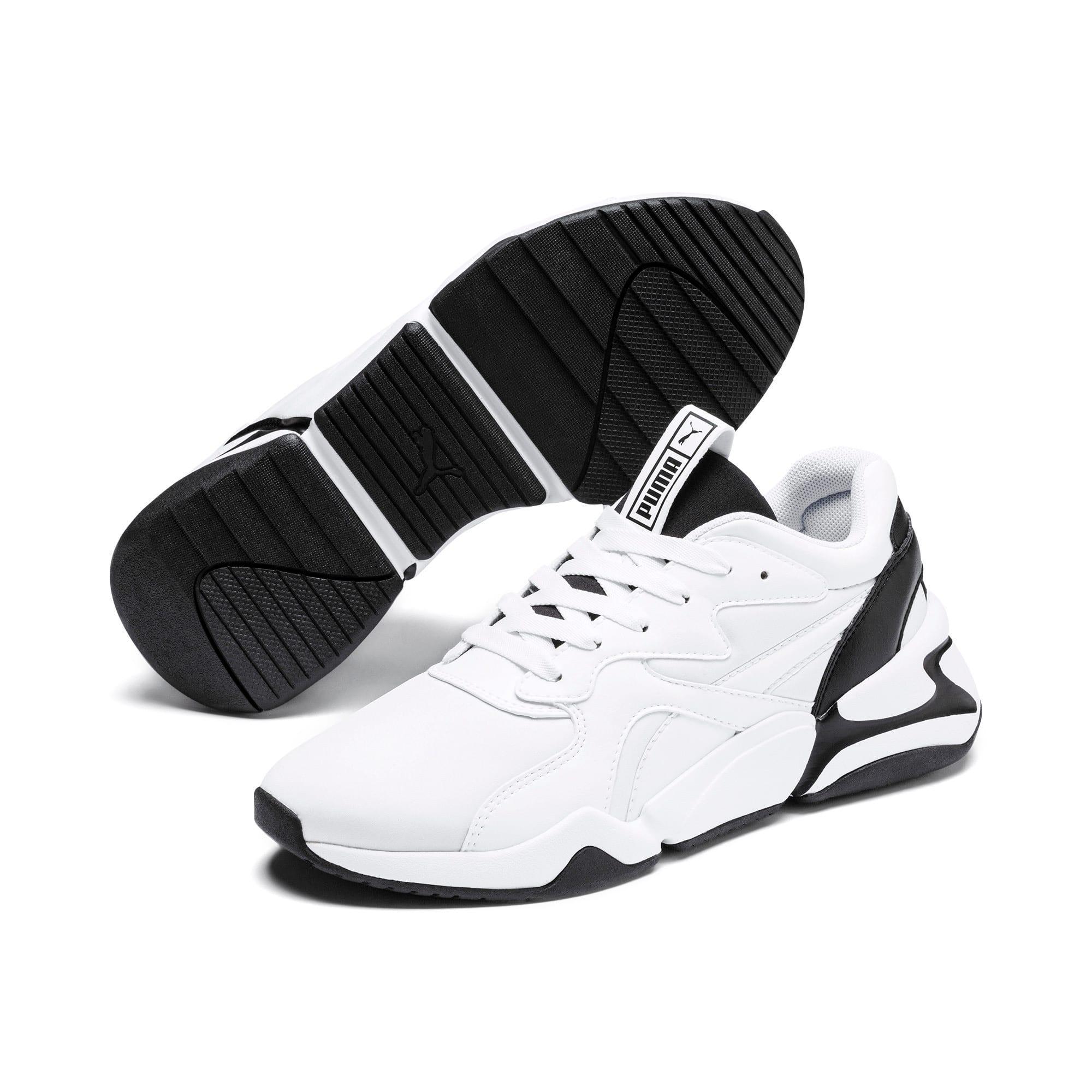 Thumbnail 3 of Nova Women's Sneakers, Puma White-Puma Black, medium