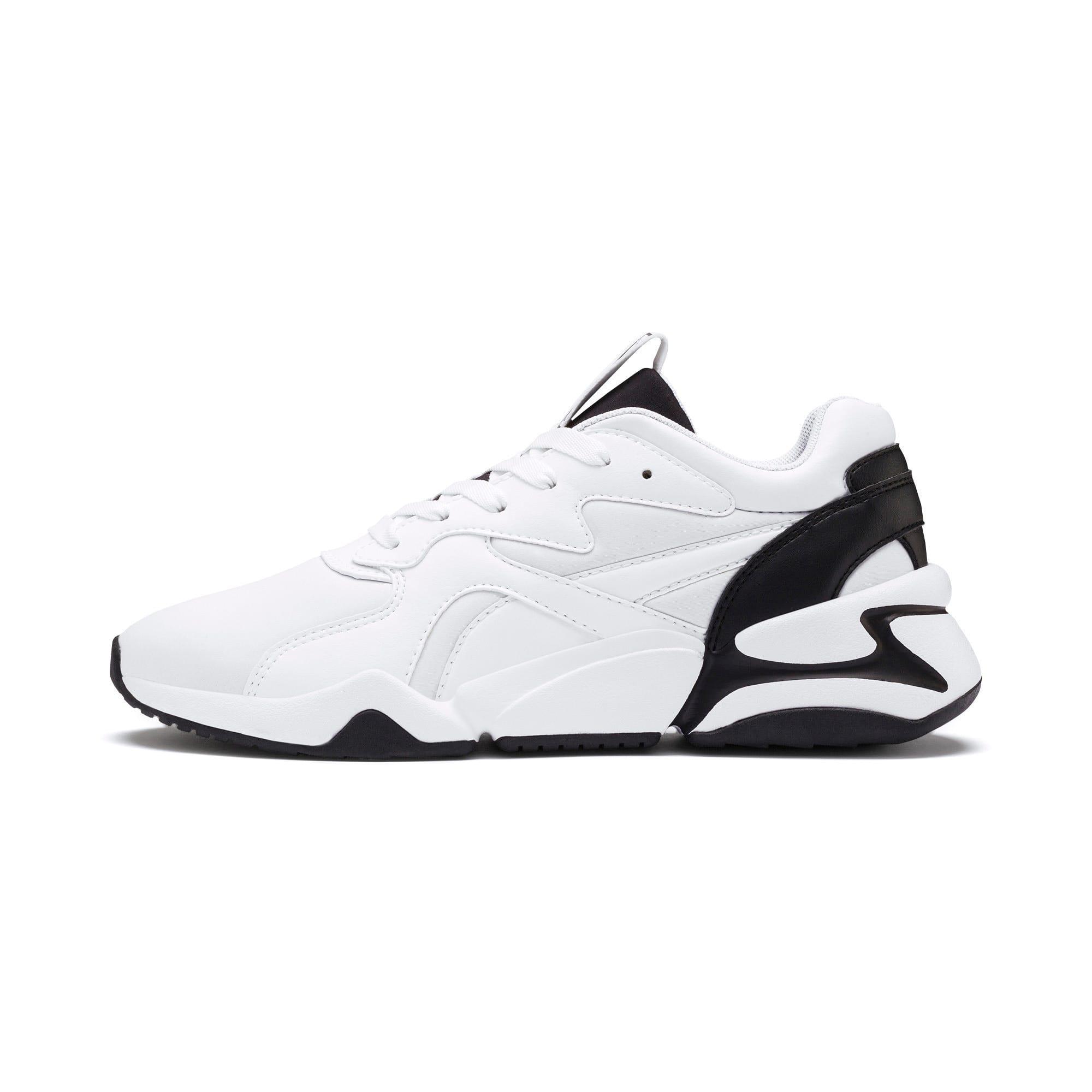 Thumbnail 1 of Nova Women's Sneakers, Puma White-Puma Black, medium