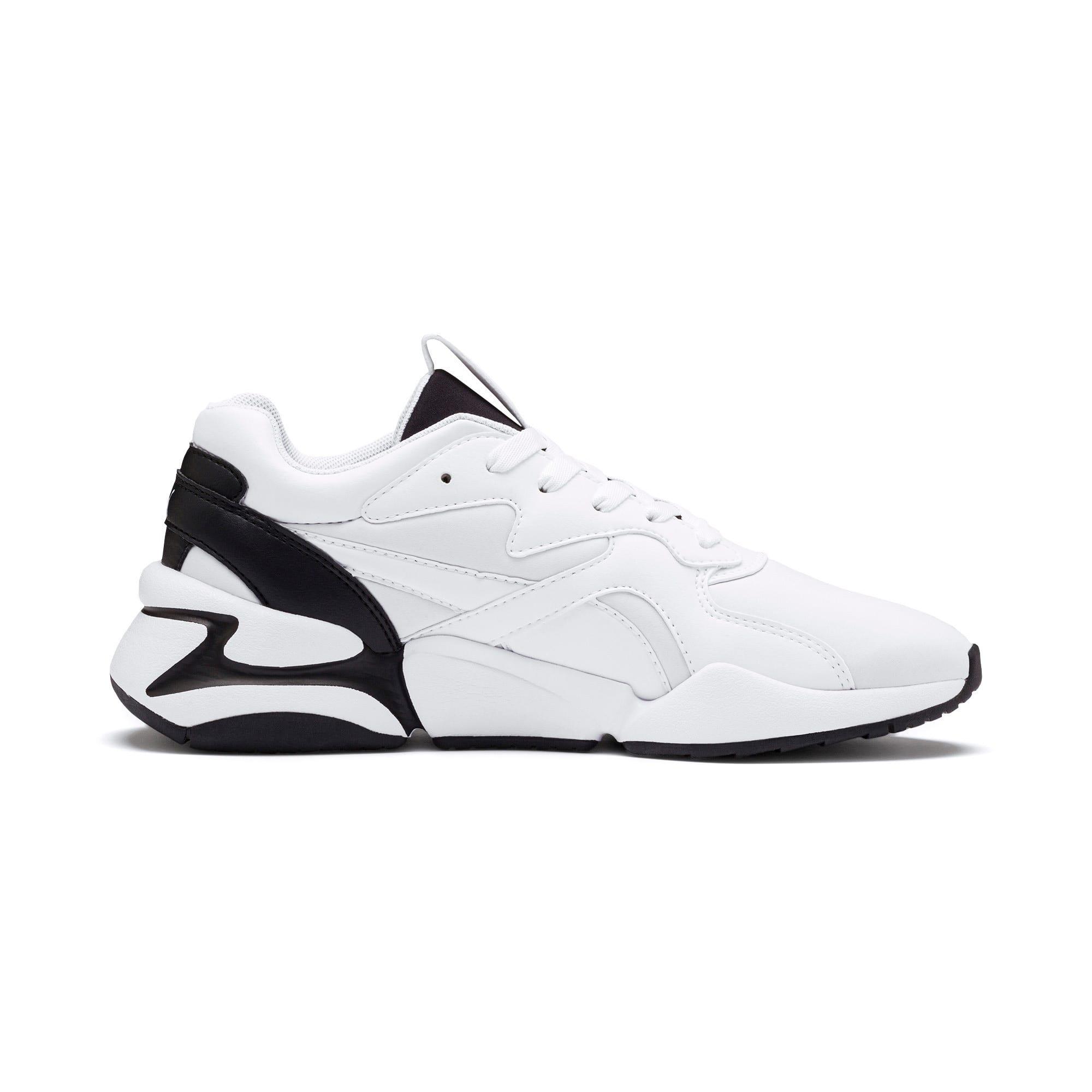 Thumbnail 8 of Nova Women's Sneakers, Puma White-Puma Black, medium