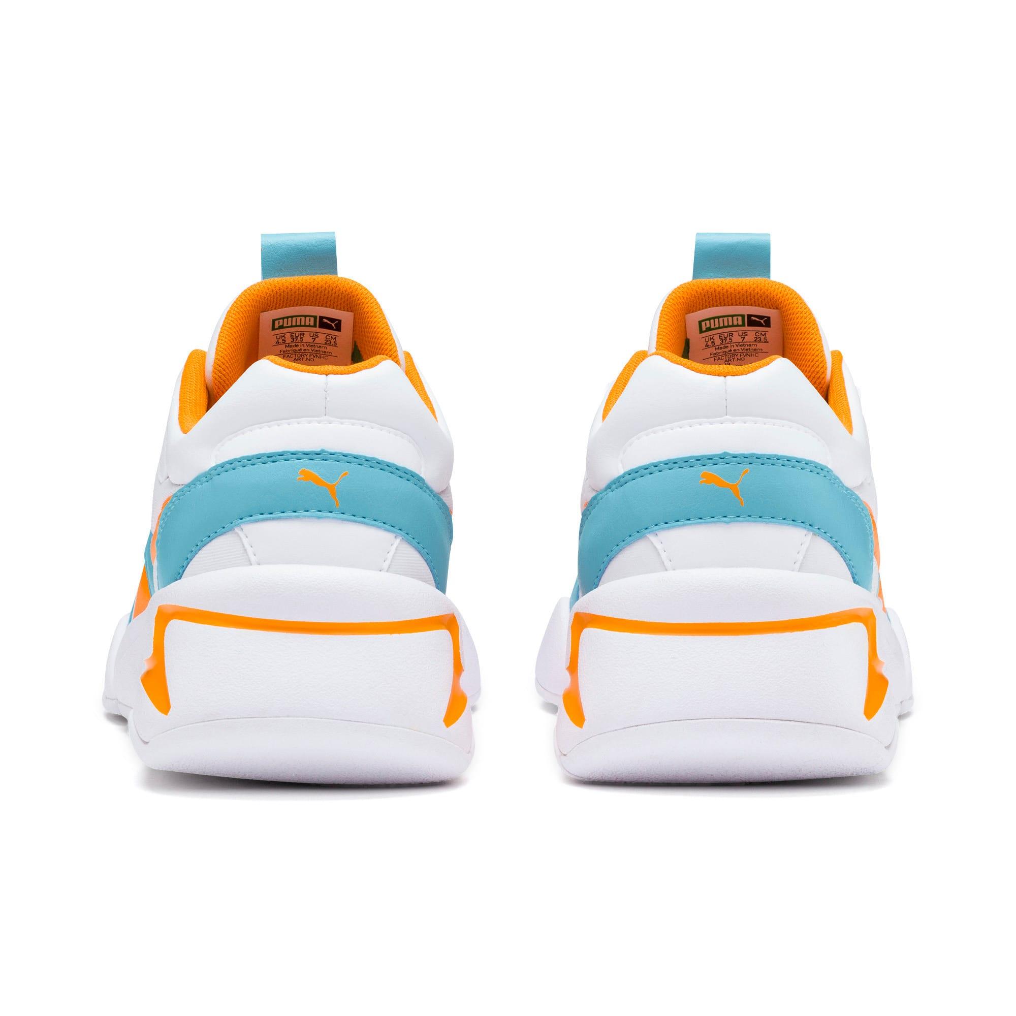 Thumbnail 4 of Nova Women's Sneakers, Puma White-Milky Blue, medium