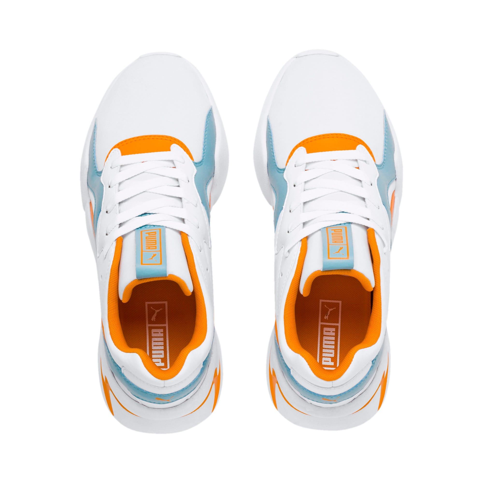 Thumbnail 9 of Nova Women's Sneakers, Puma White-Milky Blue, medium