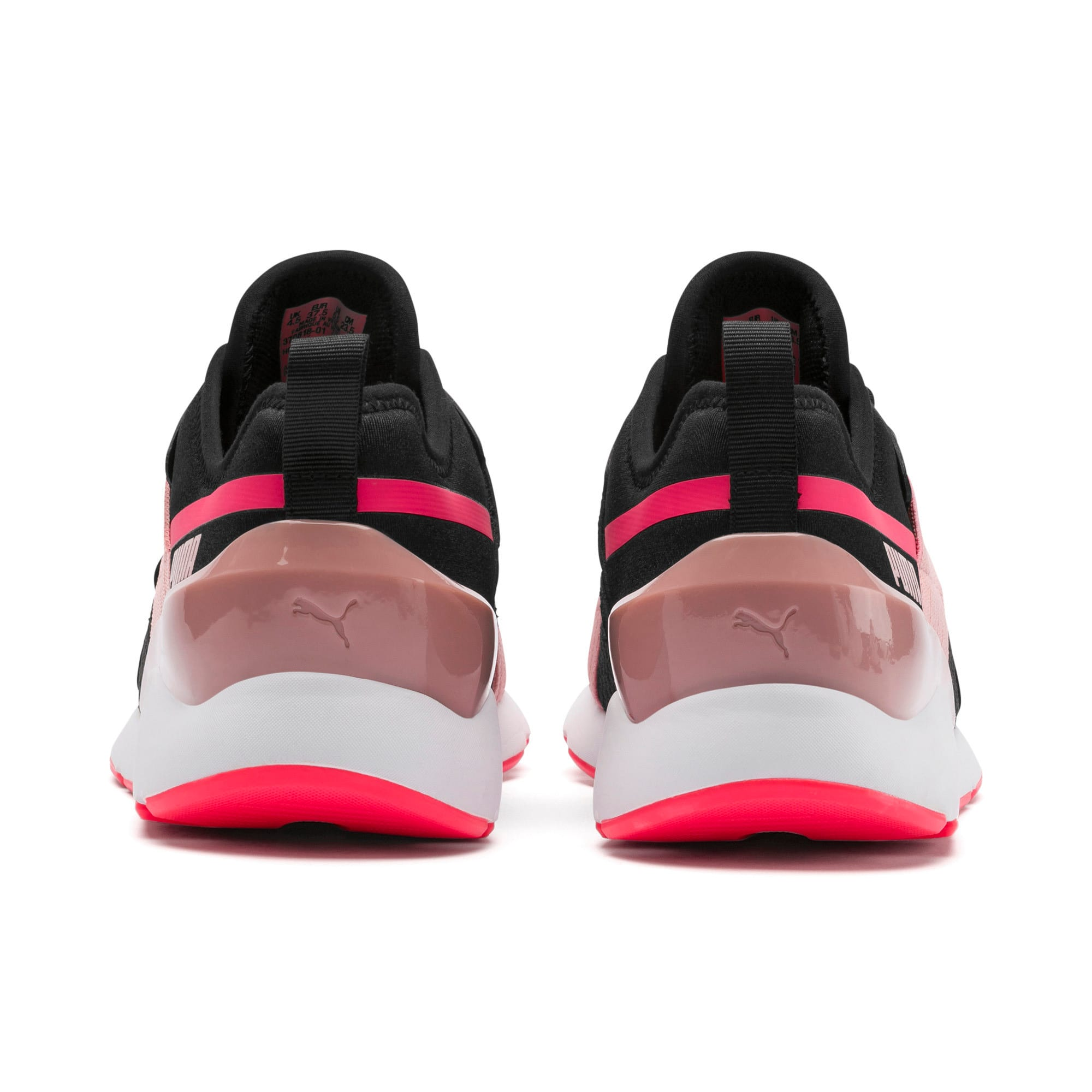 Thumbnail 4 of Muse X-2 Women's Sneakers, Puma Black-Bridal Rose, medium
