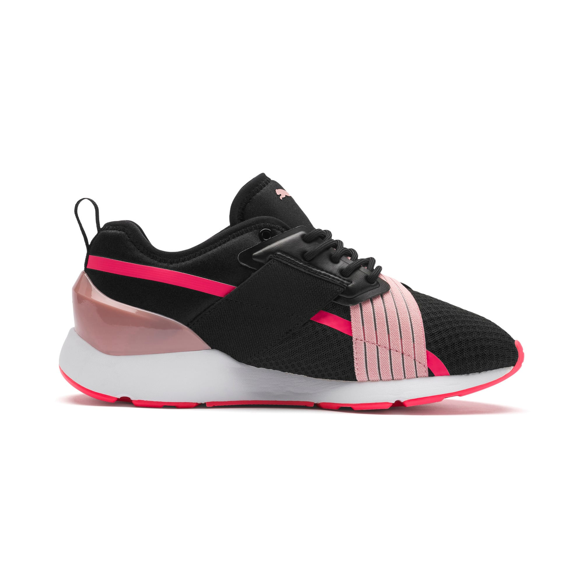 Thumbnail 6 of Muse X-2 Women's Sneakers, Puma Black-Bridal Rose, medium