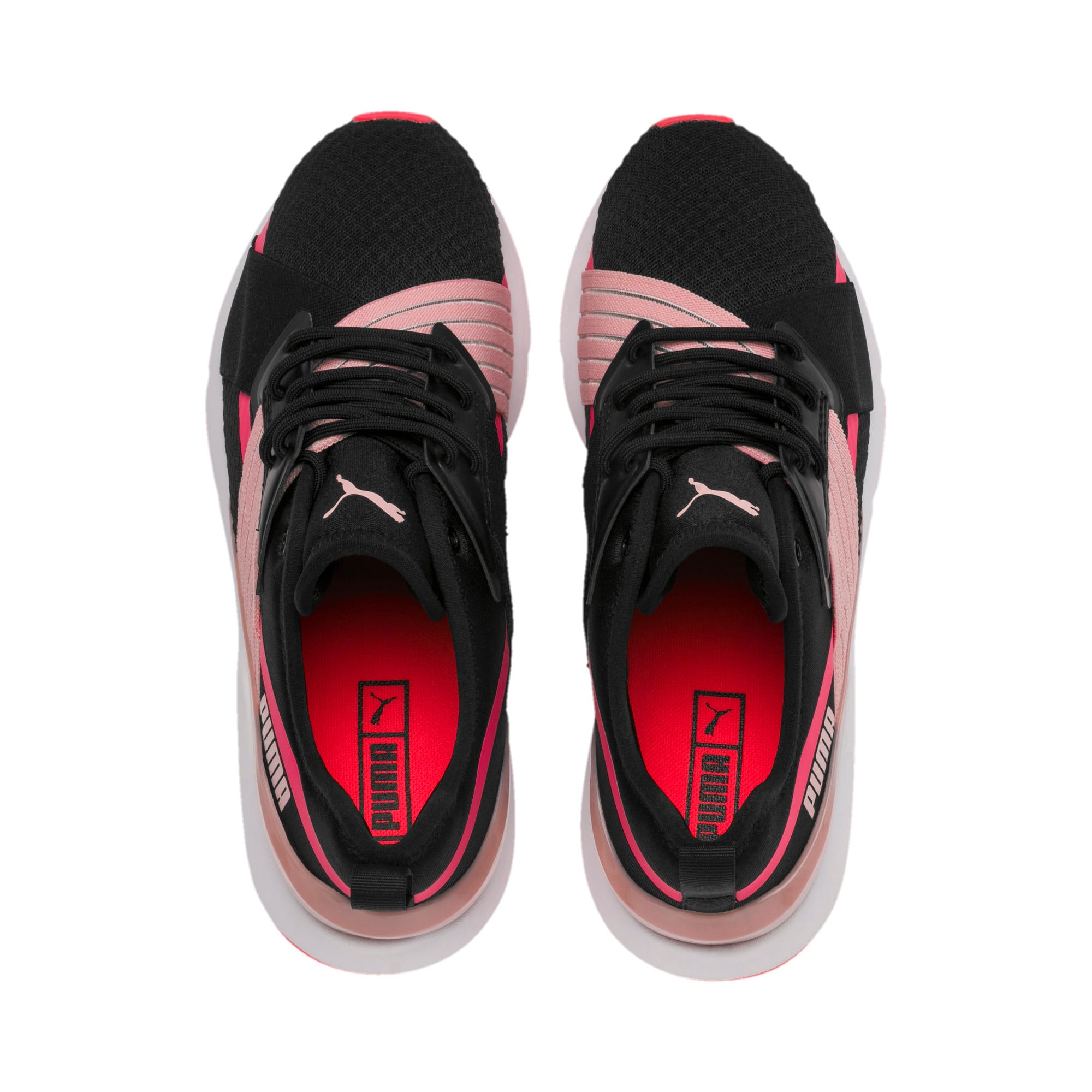 Thumbnail 7 of Muse X-2 Women's Sneakers, Puma Black-Bridal Rose, medium