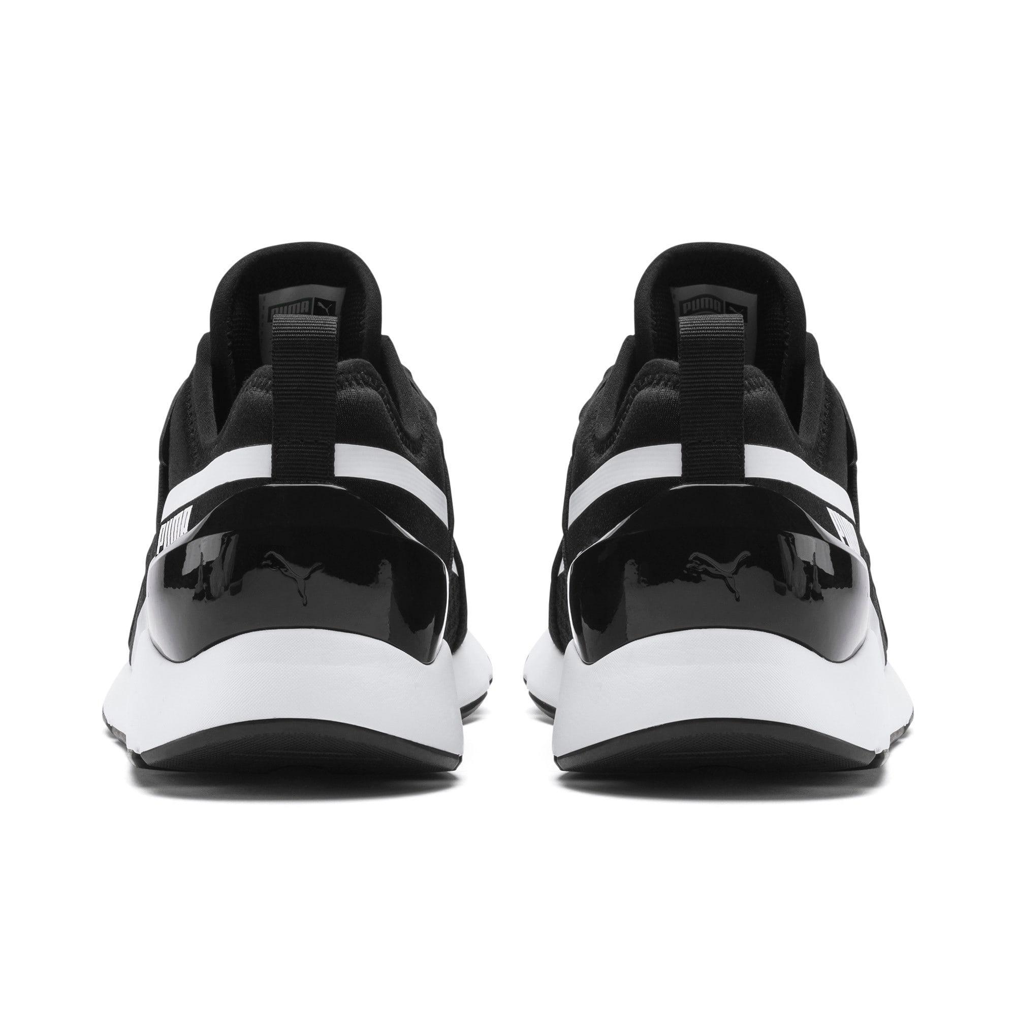 Thumbnail 3 of Muse X-2 Women's Sneakers, Puma Black-Puma White, medium