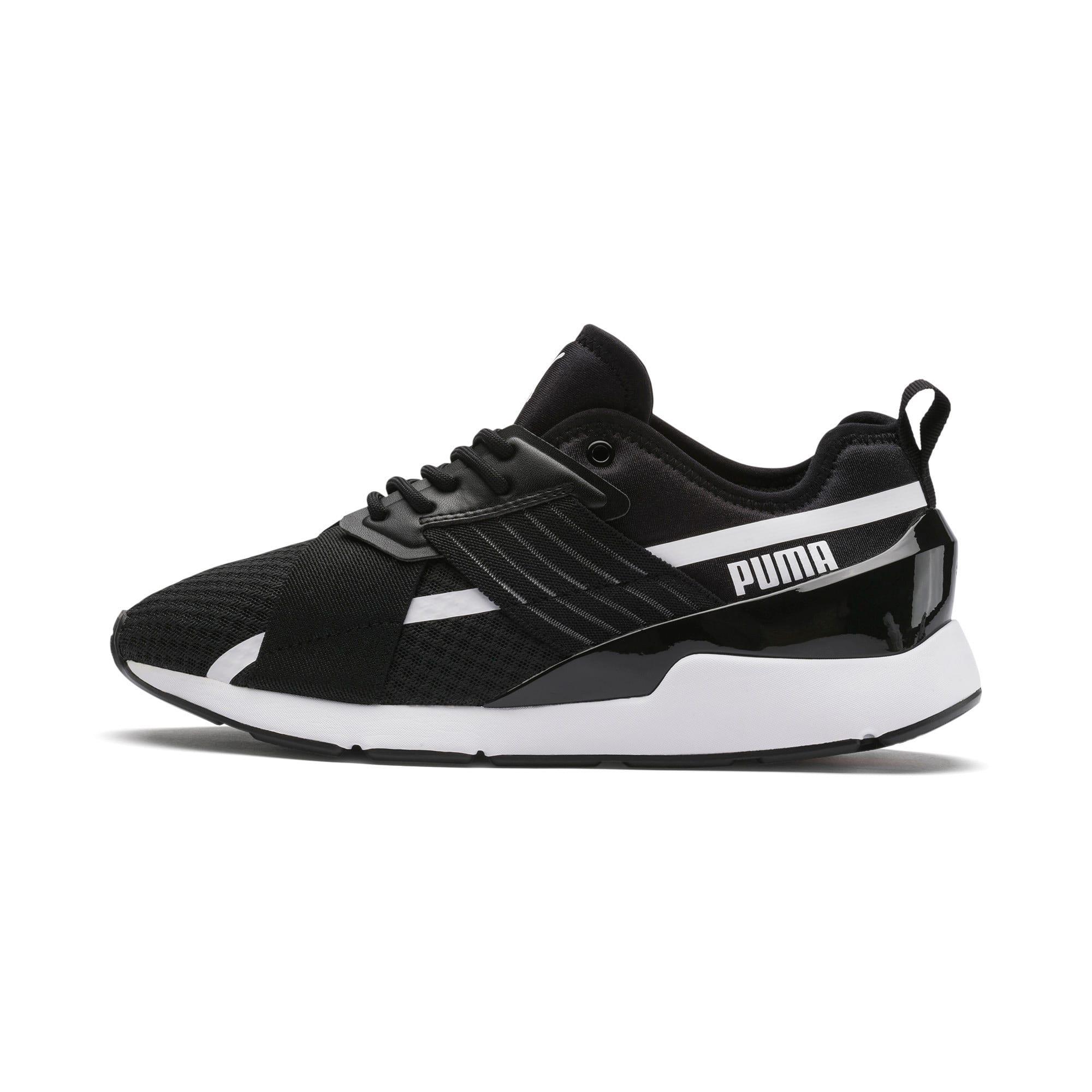 Thumbnail 1 of Muse X-2 Women's Sneakers, Puma Black-Puma White, medium