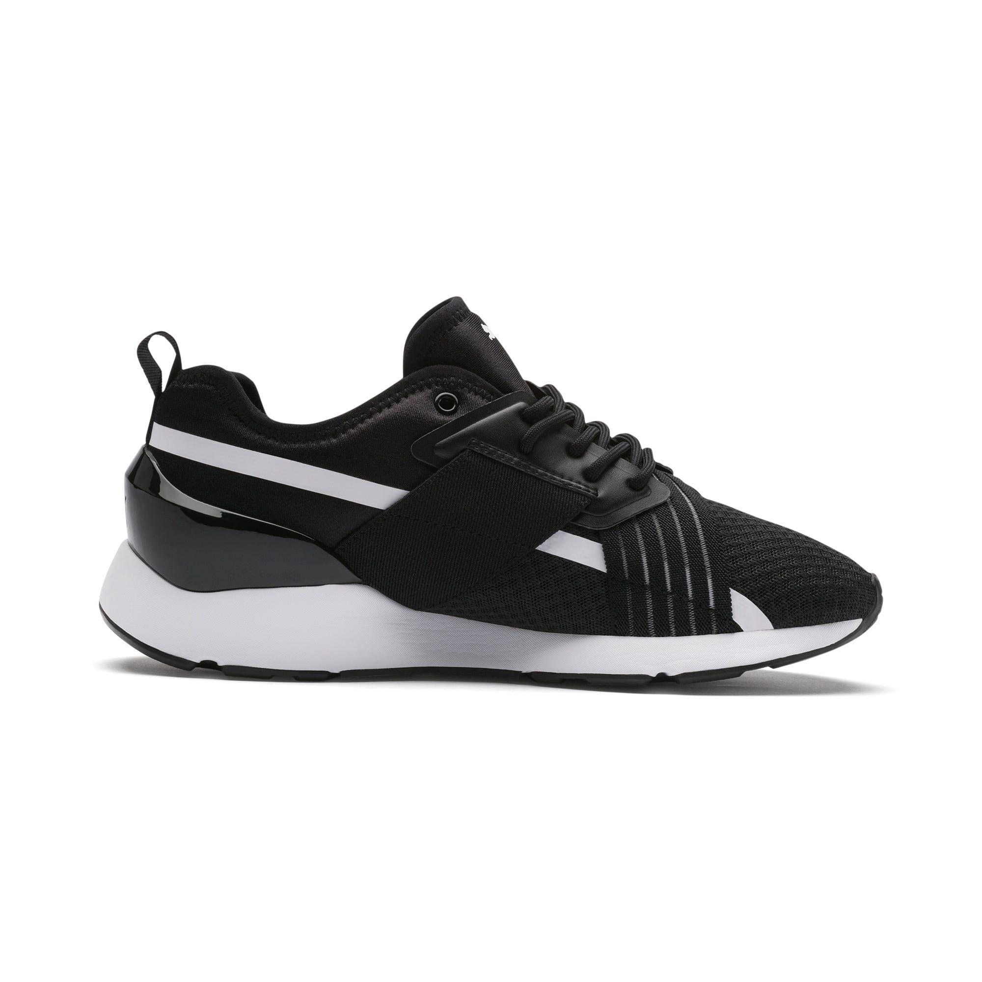 Thumbnail 5 of Muse X-2 Women's Sneakers, Puma Black-Puma White, medium