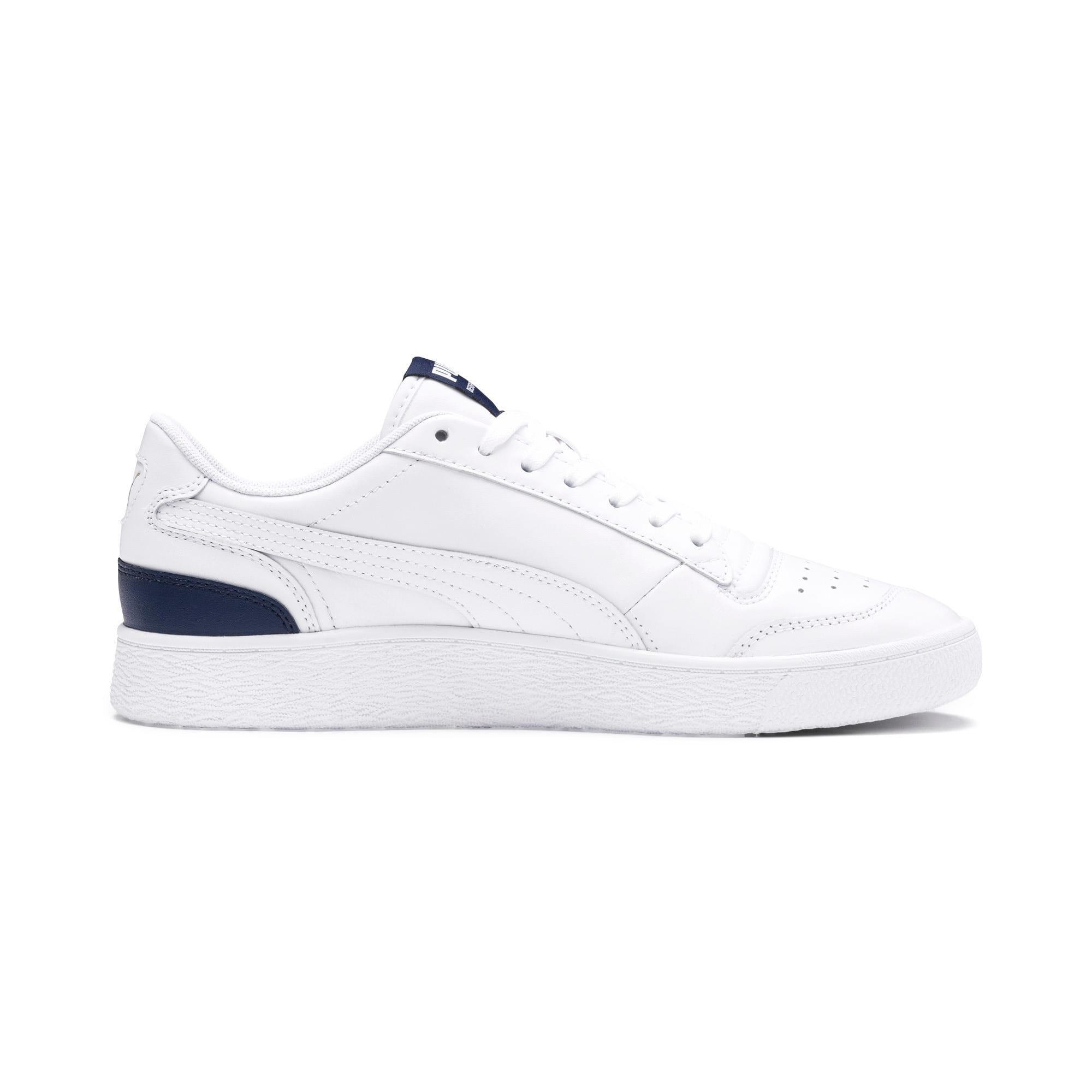 Thumbnail 5 of Ralph Sampson Lo Sneakers, Puma Wht-Peacoat-Puma Wht, medium