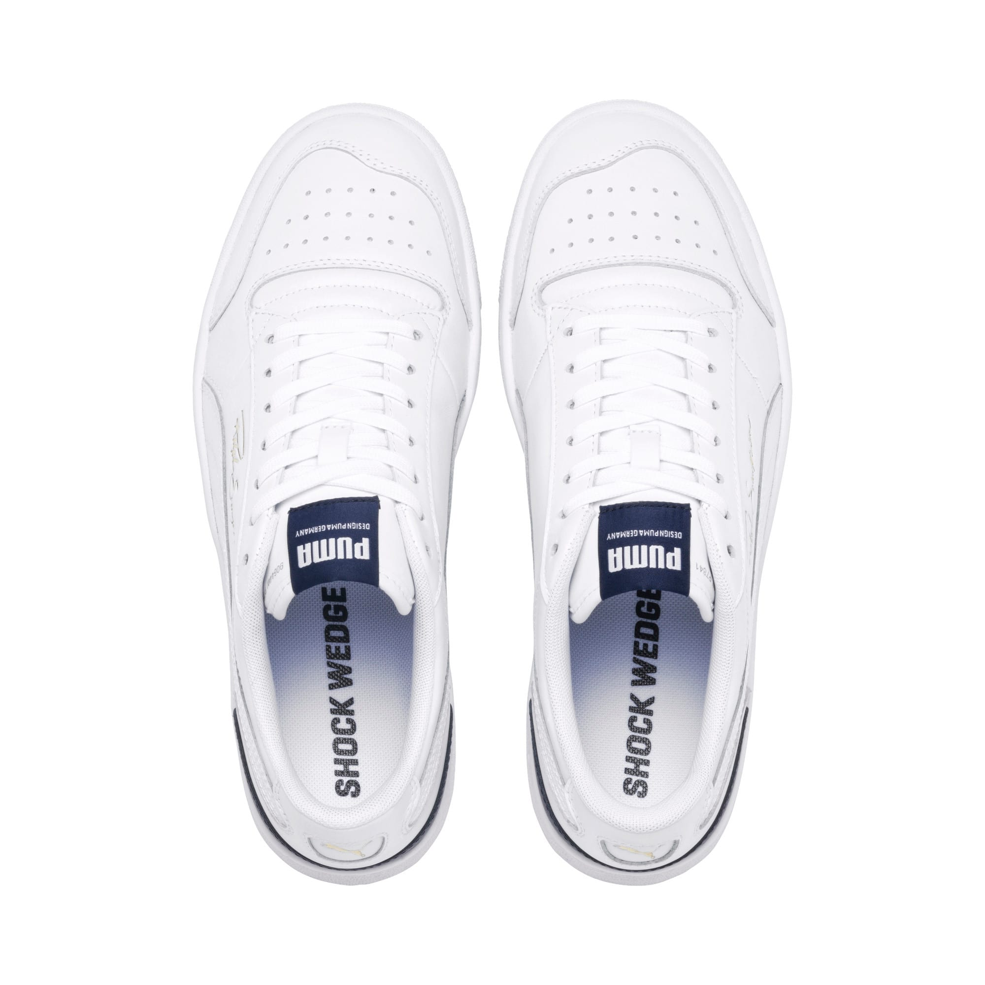 Thumbnail 6 of Ralph Sampson Lo Sneakers, Puma Wht-Peacoat-Puma Wht, medium