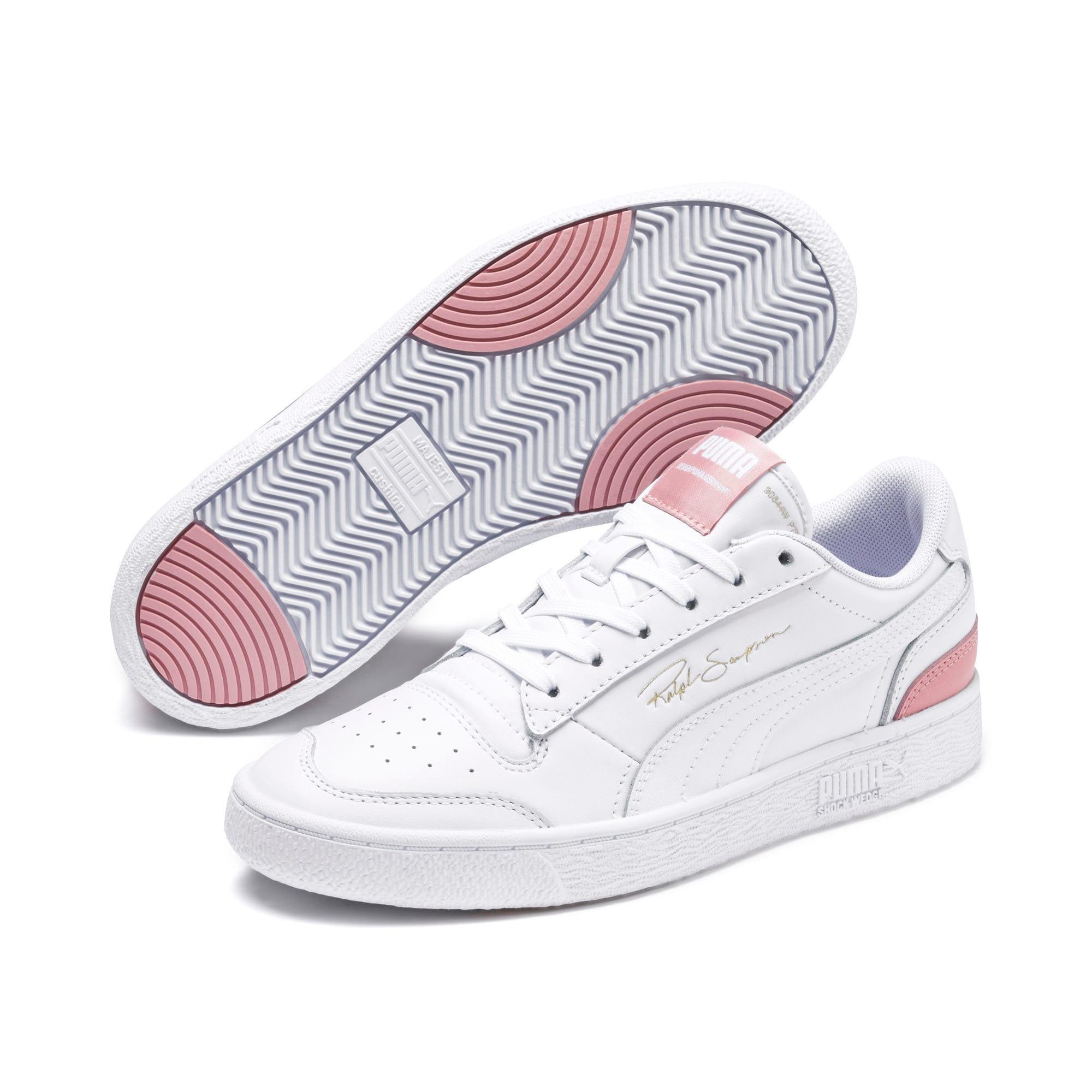 Thumbnail 2 van Lage Ralph Sampson sneakers, Puma Wht-Puma Wht-BridalRose, medium