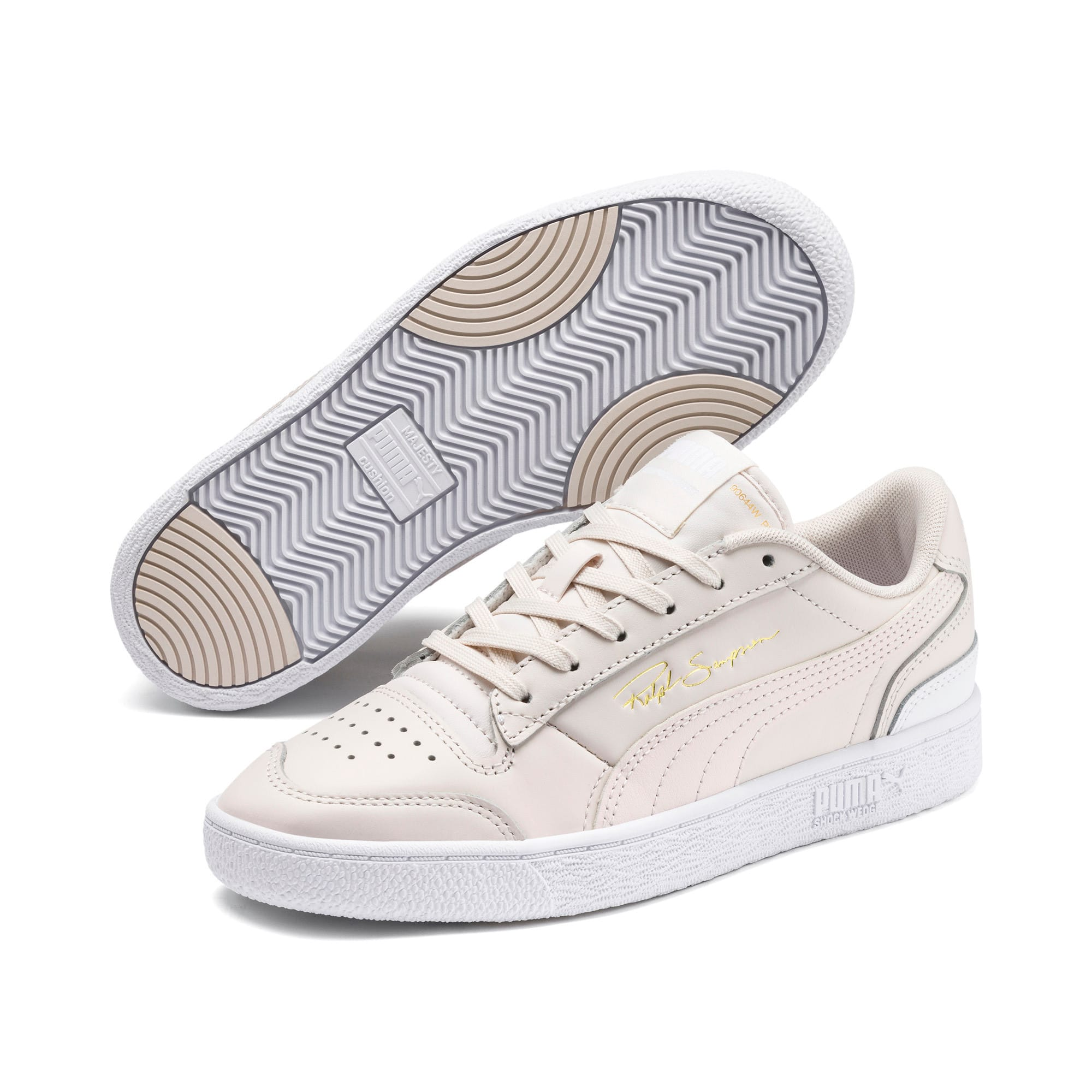 Thumbnail 2 of Ralph Sampson Lo Trainers, Pastel-Pastel-Puma White, medium
