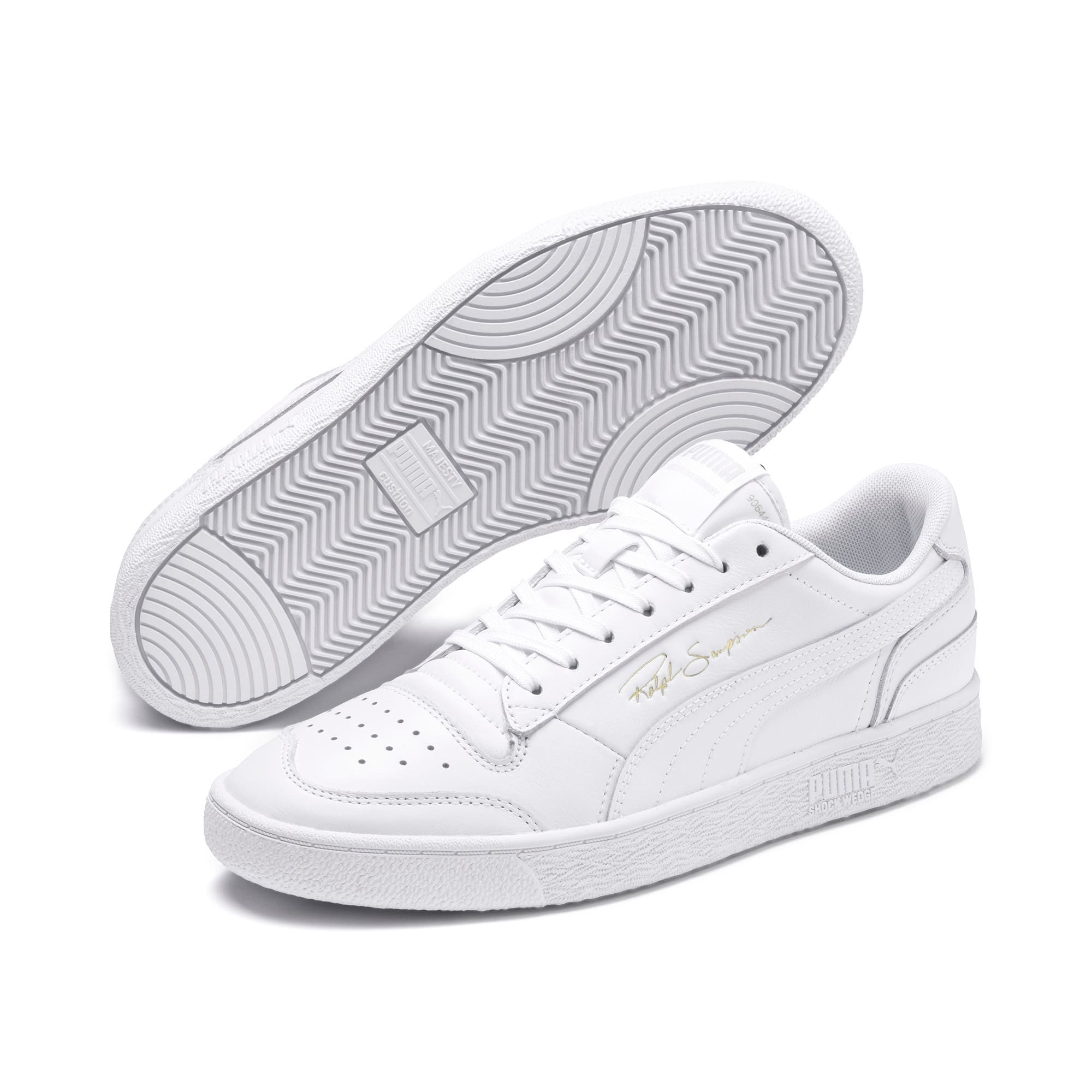 Thumbnail 3 of Ralph Sampson Lo Sneakers, Puma Wht-Puma Wht-Puma Wht, medium