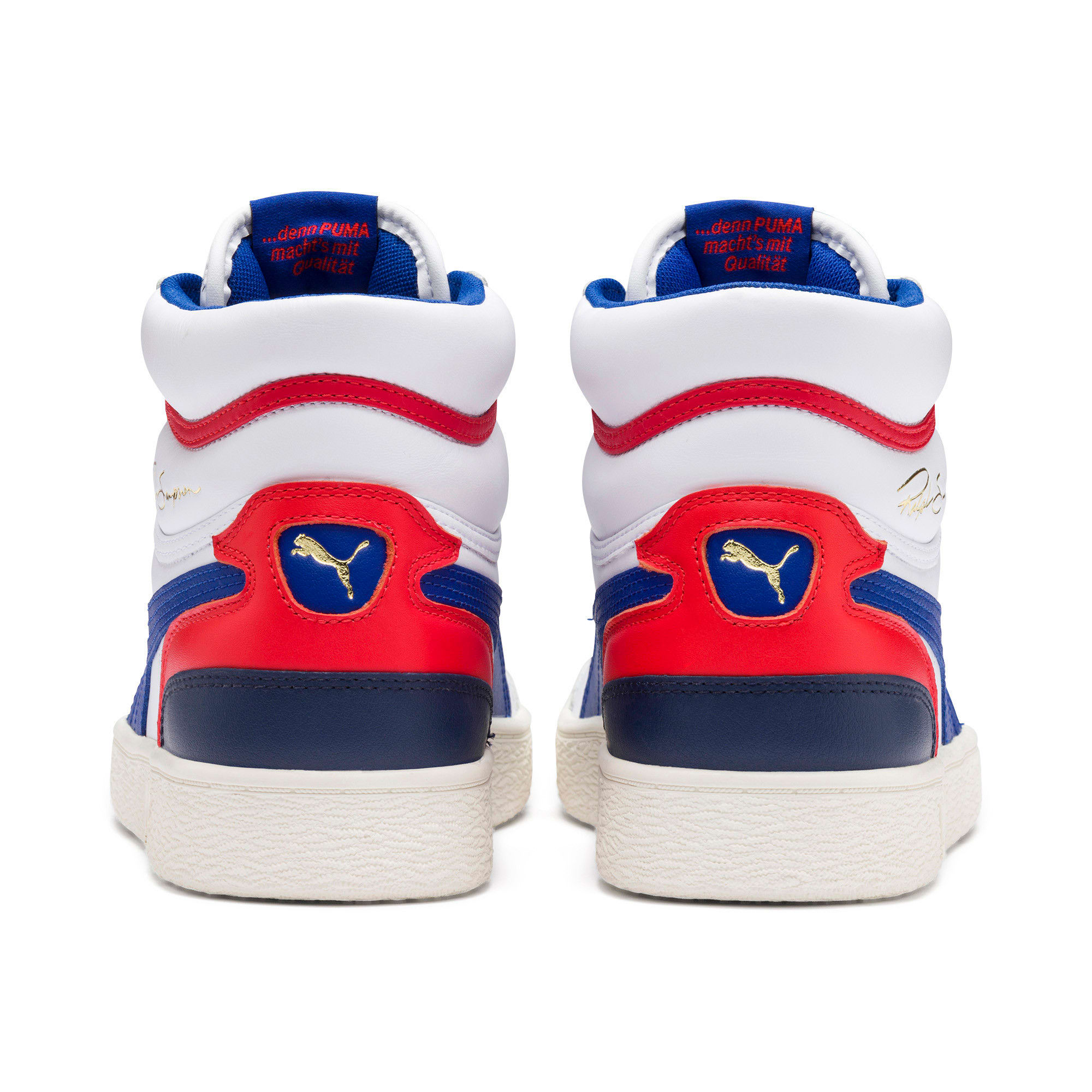 Thumbnail 3 of Ralph Sampson Mid Trainers, Wht-Surf The Web-Marshmallow, medium